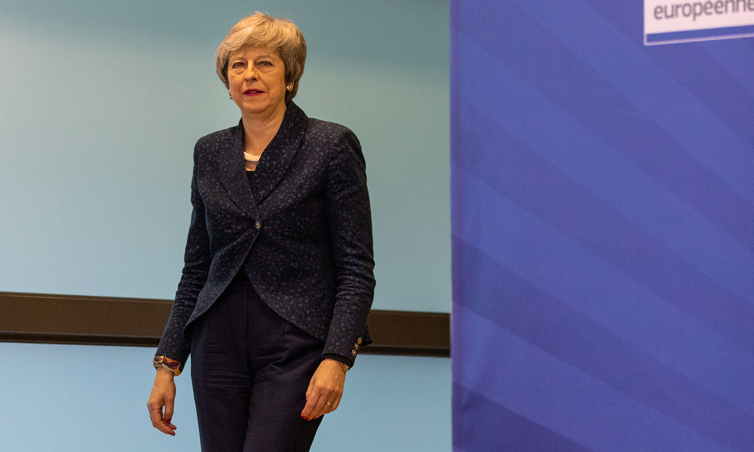 'I know there is a desire for a new approach and new leadership.' — Theresa May, in a March 27 speech to Conservative lawmakers