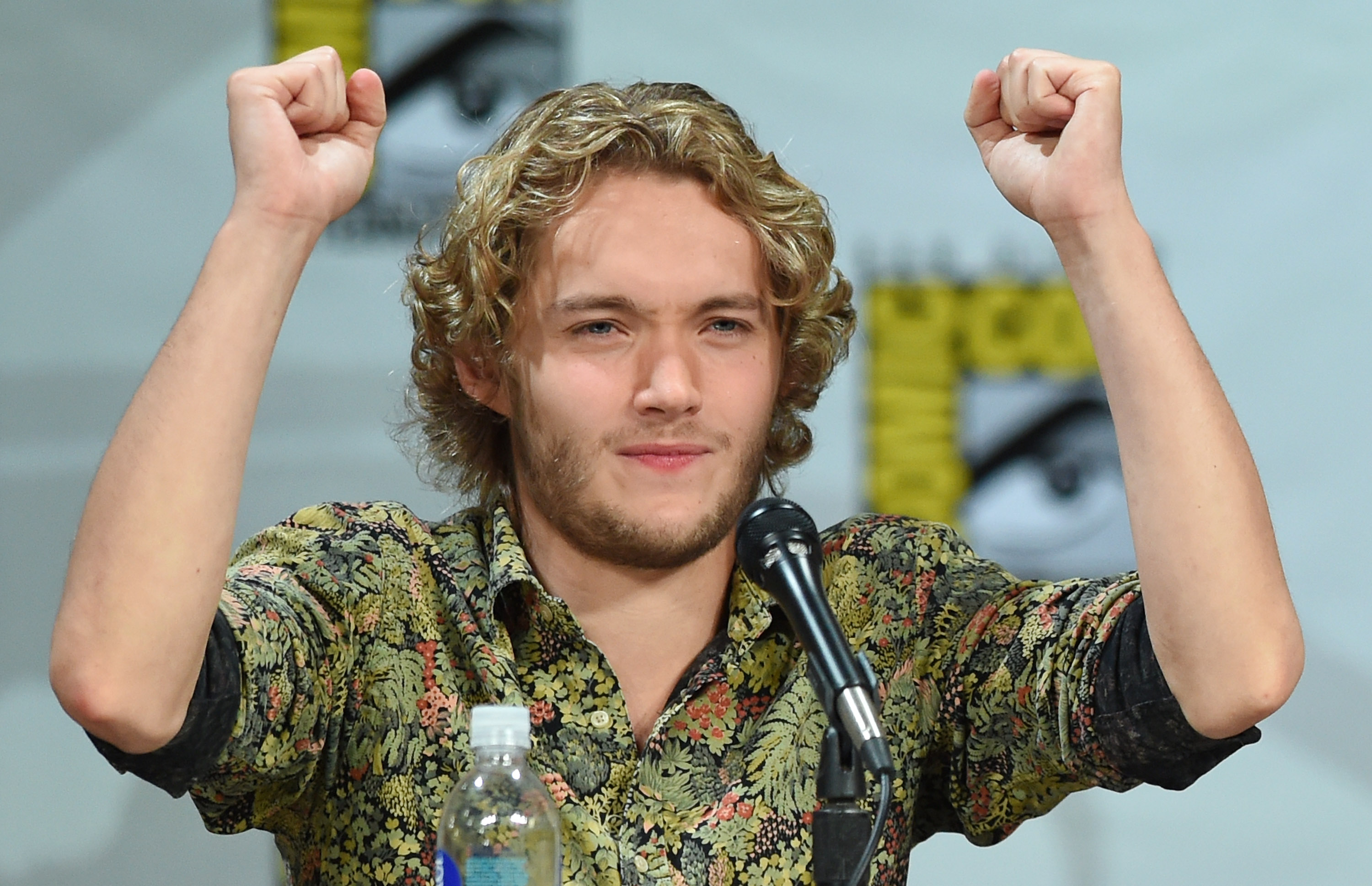 oby Regbo attends The CW's  Reign  exclusive premiere screening and panel during Comic-Con International 2014 at the San Diego Convention Center on July 24, 2014 in San Diego, California.
