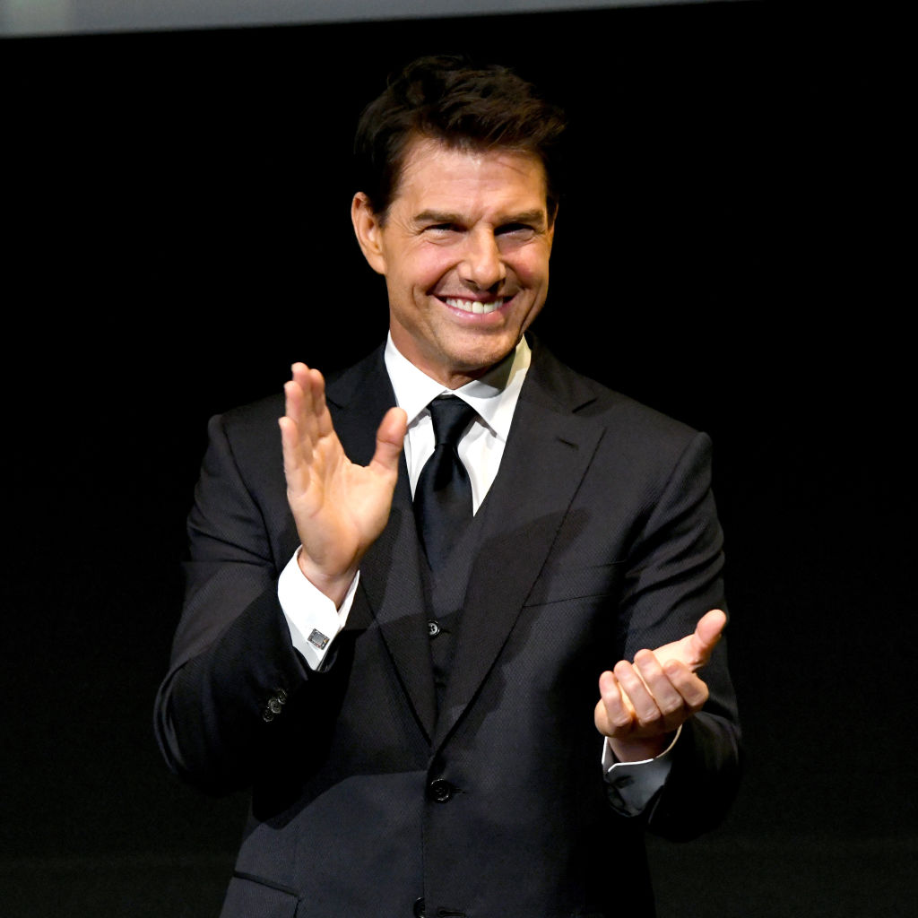 Tom Cruise onstage during the 10th Annual Lumiere Awards at Warner Bros. Studios on January 30, 2019 in Burbank.