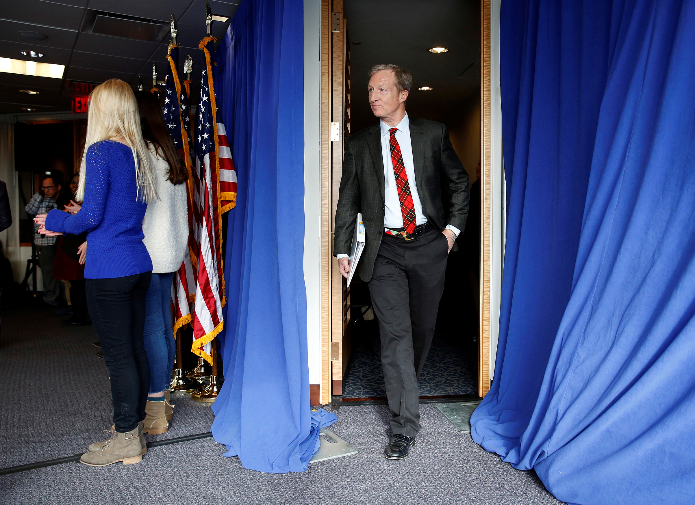 Tom Steyer, a hedge fund manager and a prominent Democratic fundraiser, has mounted a high-profile advertising campaign advocating the impeachment of U.S. President Donald Trump
