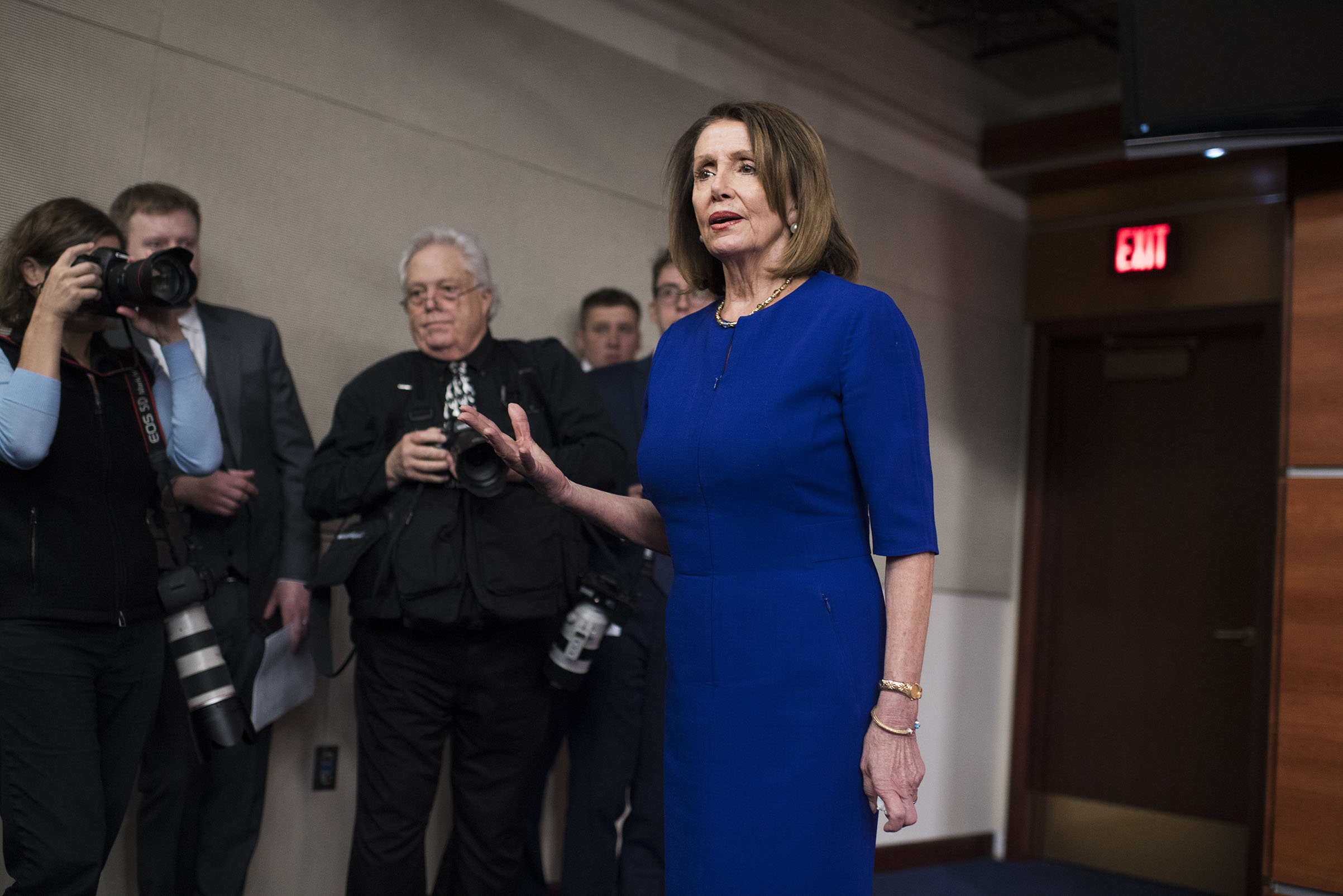Pelosi's reluctance to impeach leaves the decision in the hands of the voters, where it should be