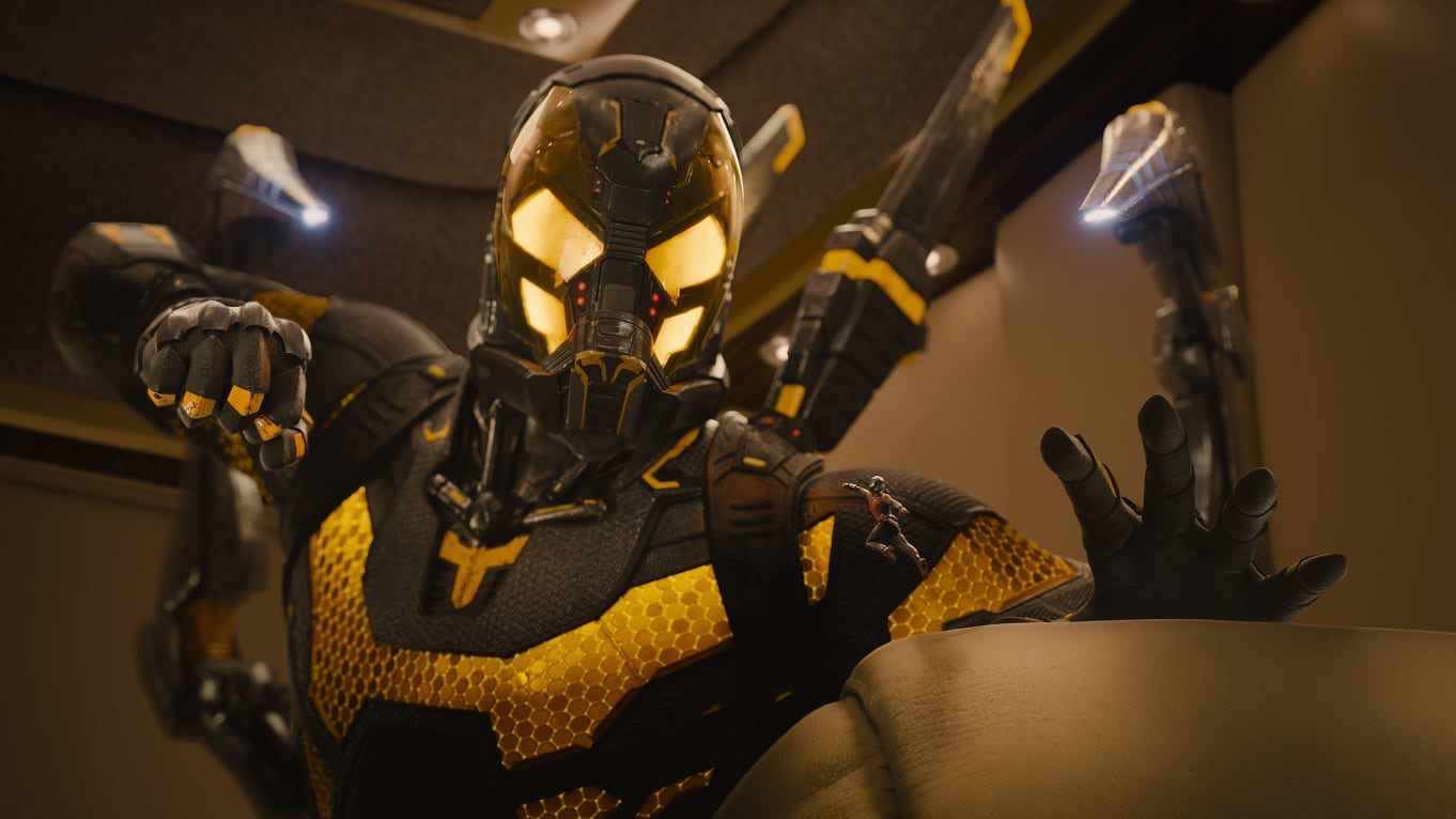 Corey Stoll as Yellowjacket in Ant-Man