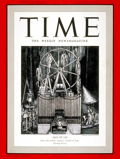 Why Adolf Hitler Was TIME's Man of the Year for 1938 | Time