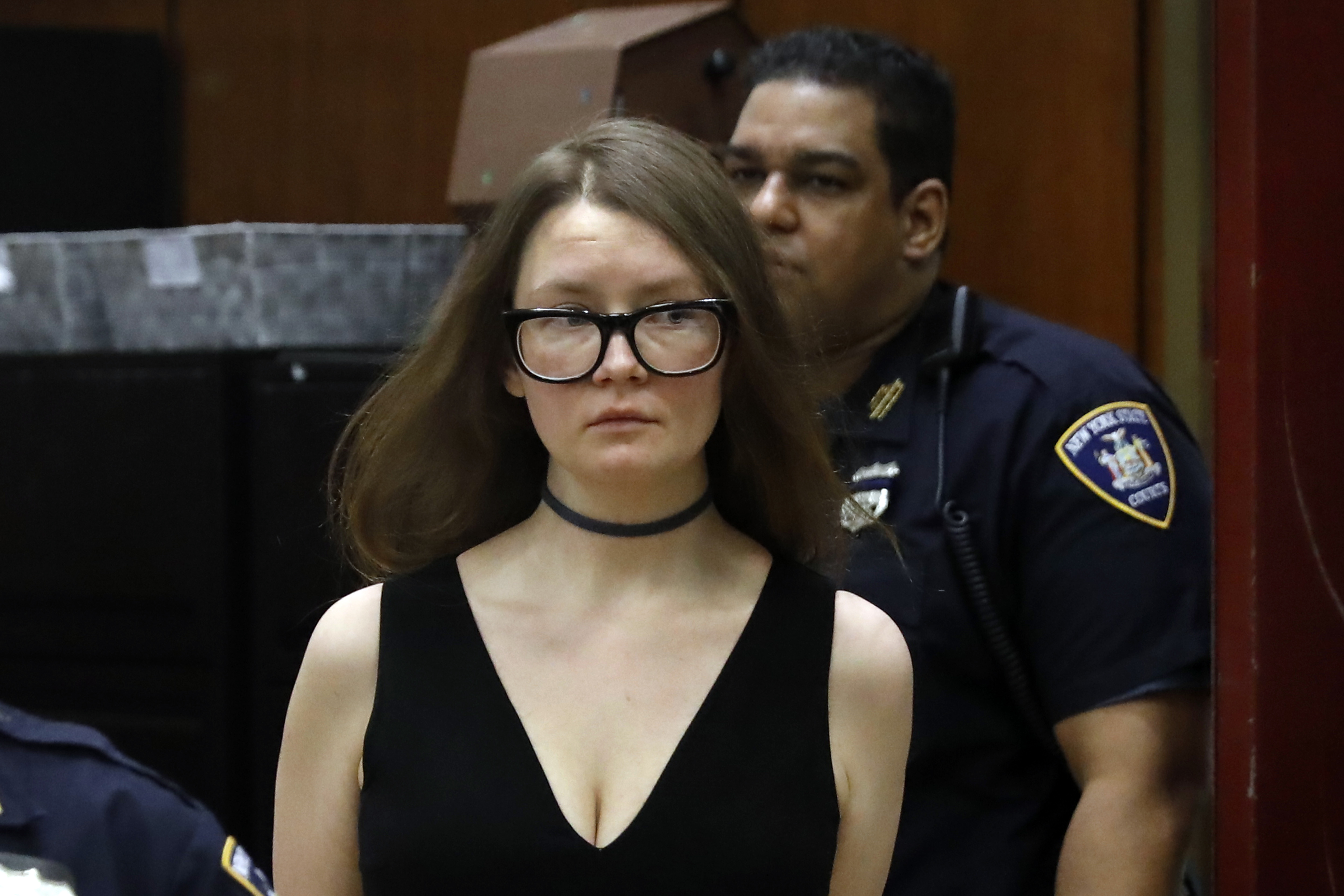 Anna Sorokin arrives in New York State Supreme Court, in New York, Wednesday, March 27, 2019.