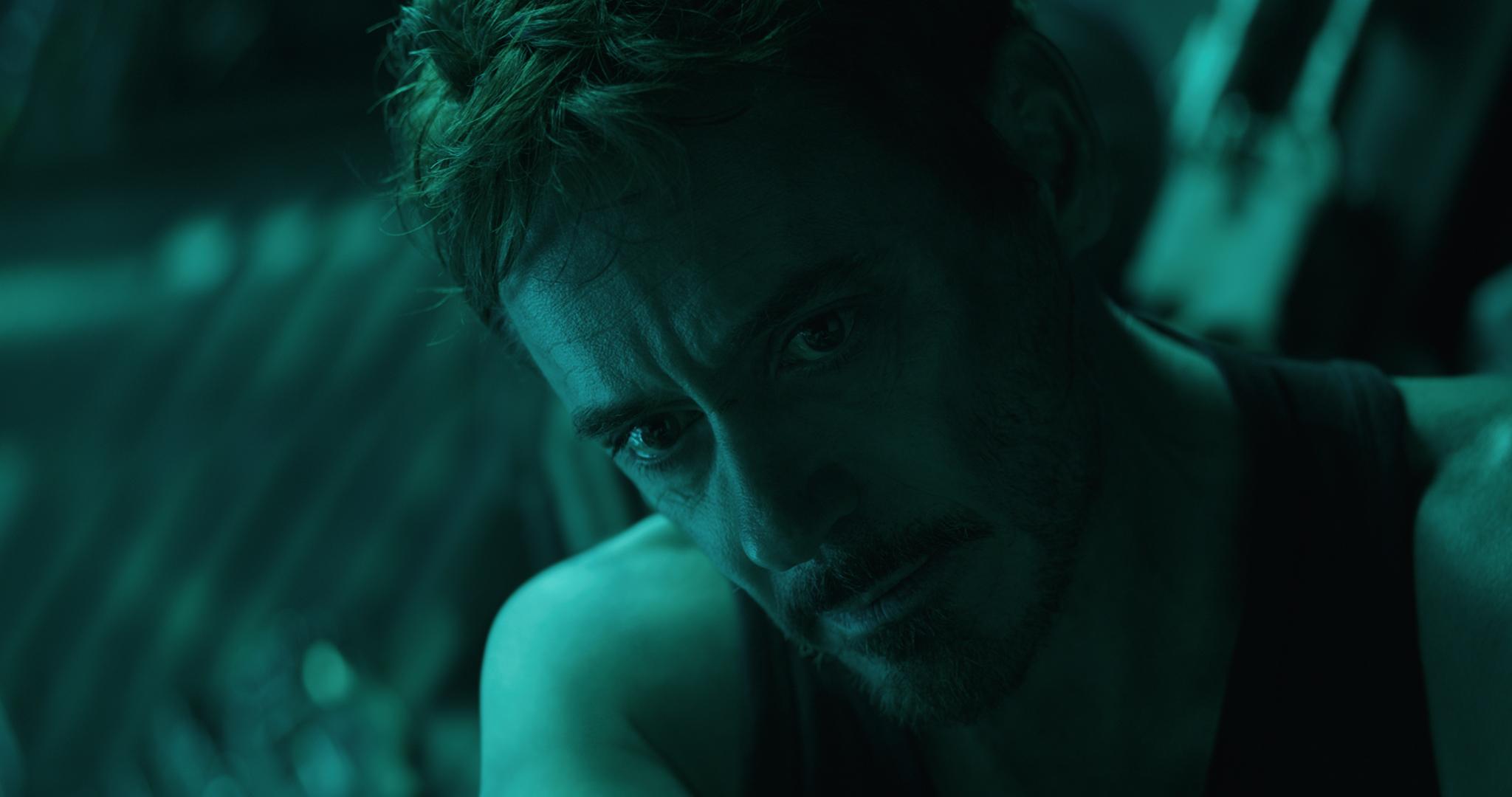 Still from 'Avengers: Endgame' featuring Tony Stark/Iron Man (Robert Downey Jr.).