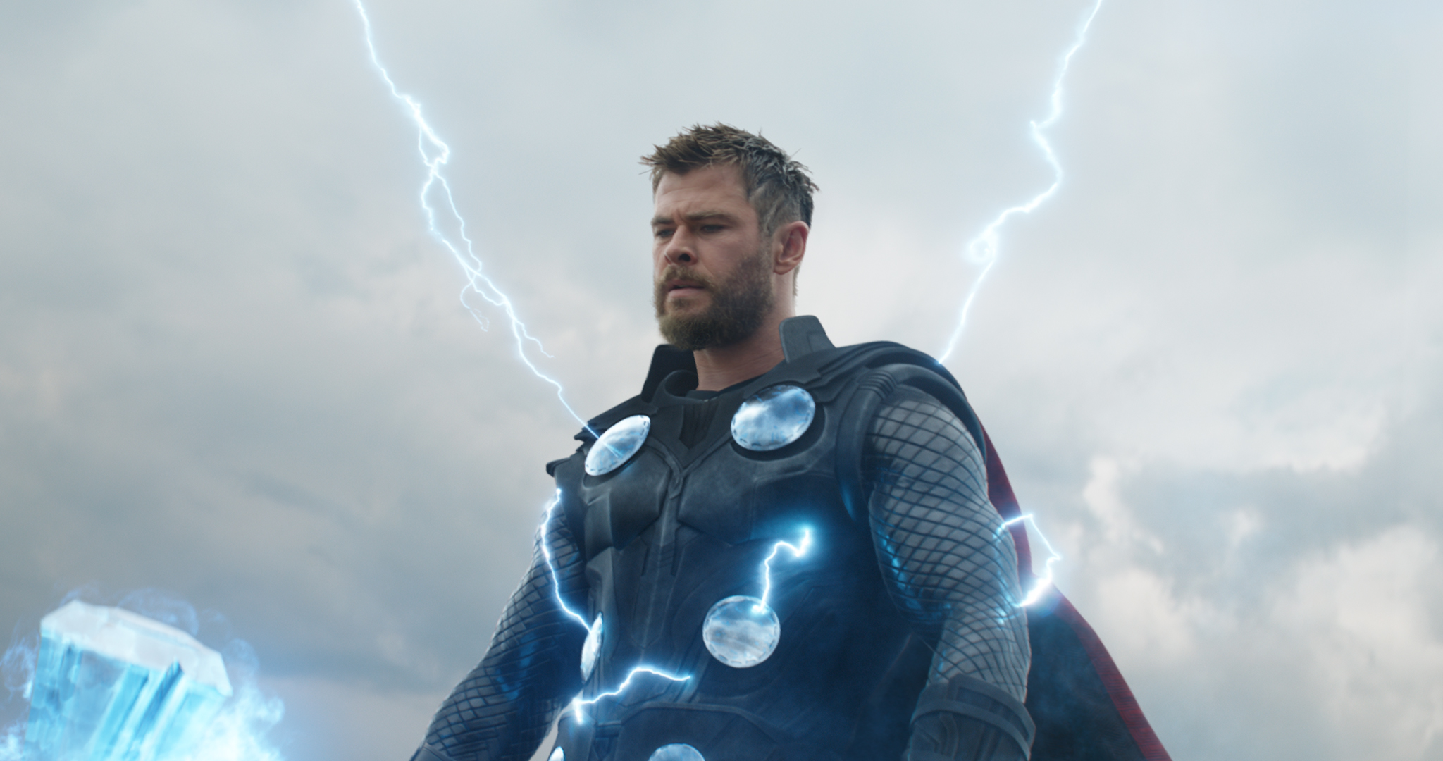 Still from 'Avengers: Endgame' featuring Thor (Chris Hemsworth).