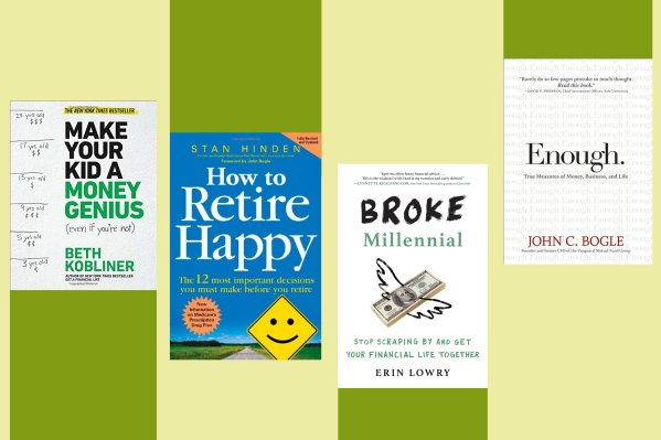 10 Personal Finance Books For Answers To Money Questions Time