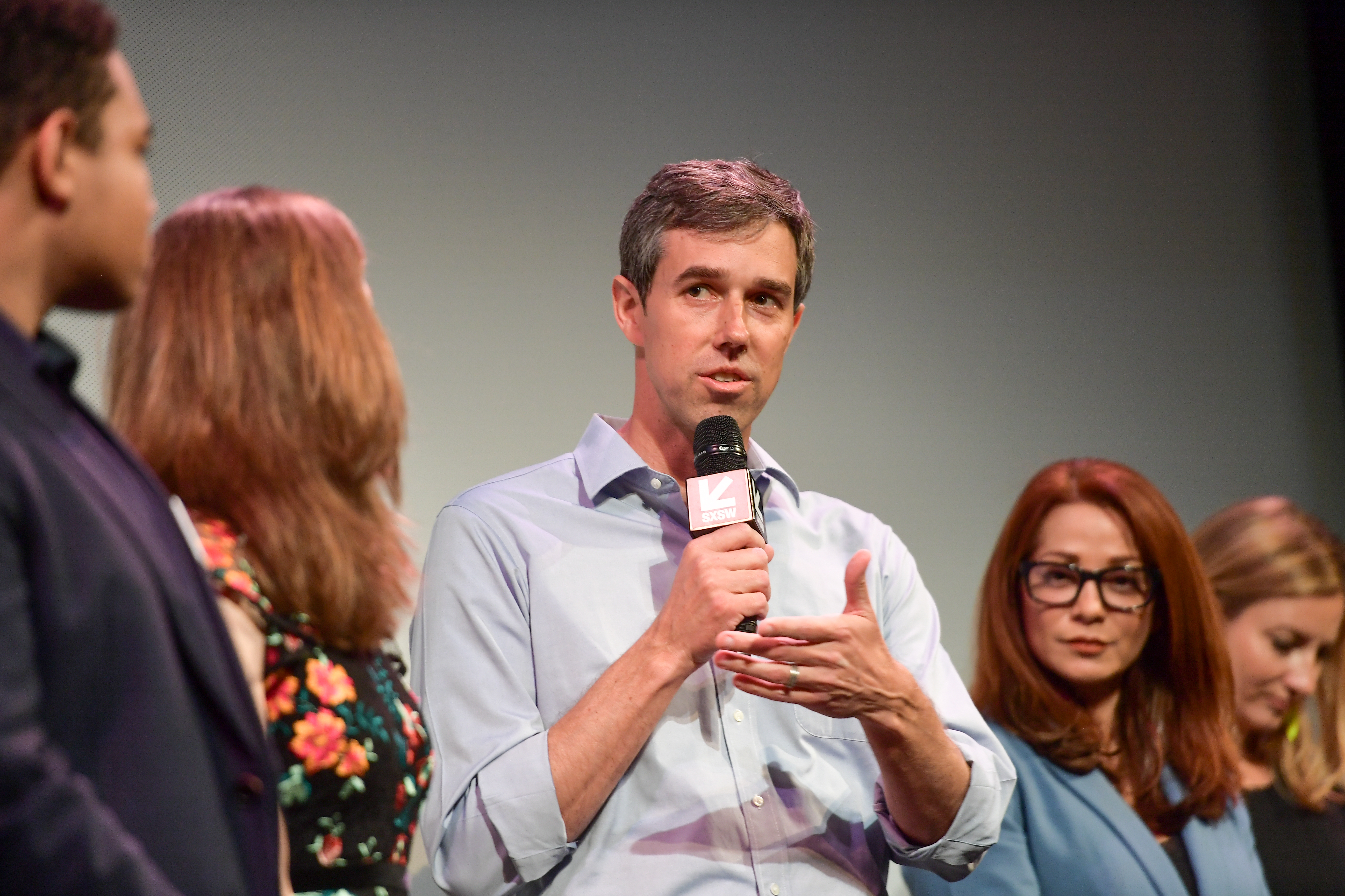 Beto O'Rourke attends the  Running with Beto  Premiere 2019 SXSW Conference and Festivals at Paramount Theatre on March 09, 2019 in Austin, Texas.