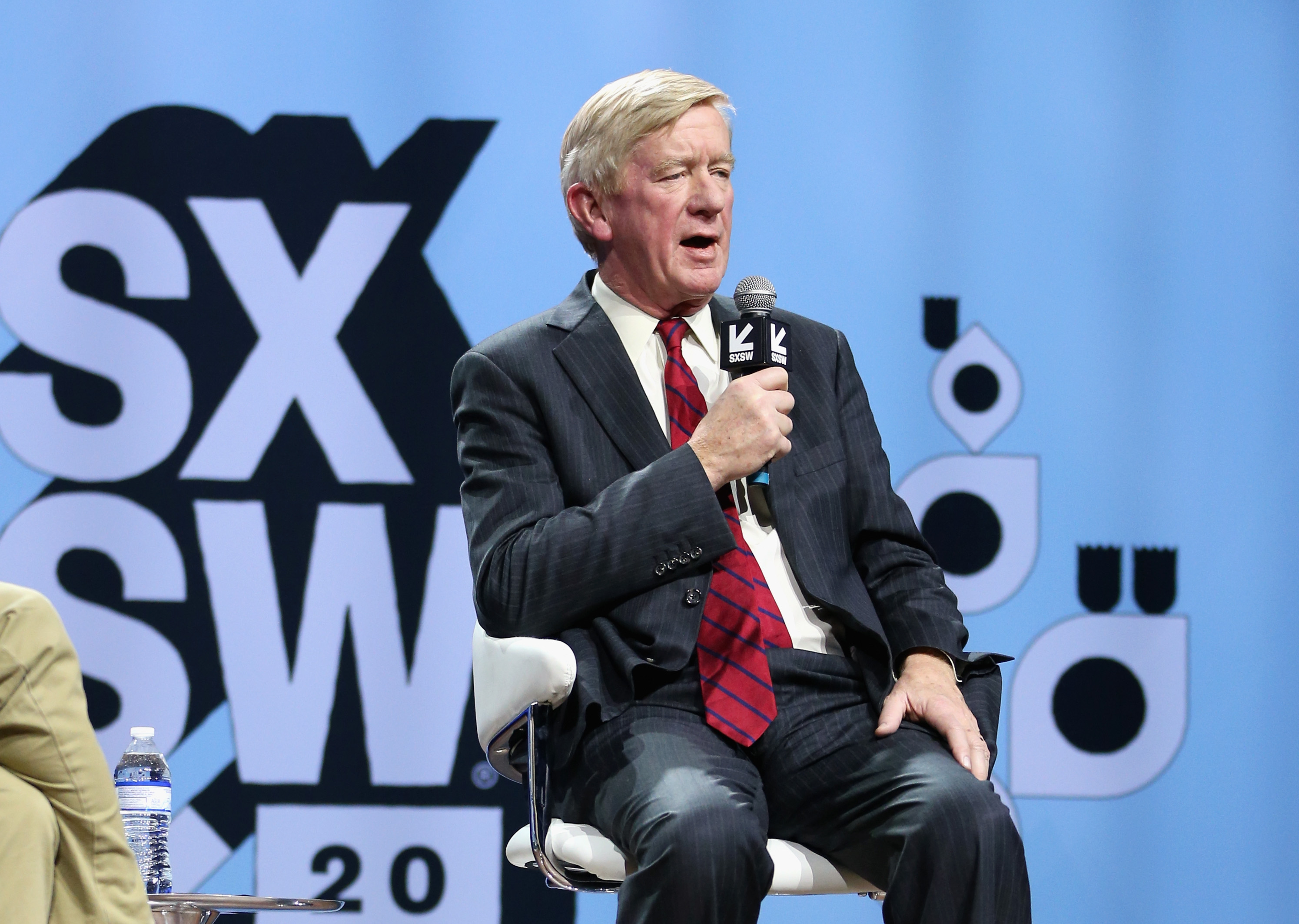 Bill Weld speaks onstage at Conversations About America's Future: Former Governor Bill Weld during the 2019 SXSW Conference and Festivals at Austin City Limits Live at the Moody Theater on March 8, 2019 in Austin, Texas.