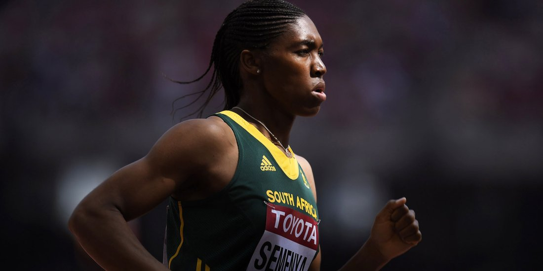 Olympic athlete from South Africa Caster Semenya