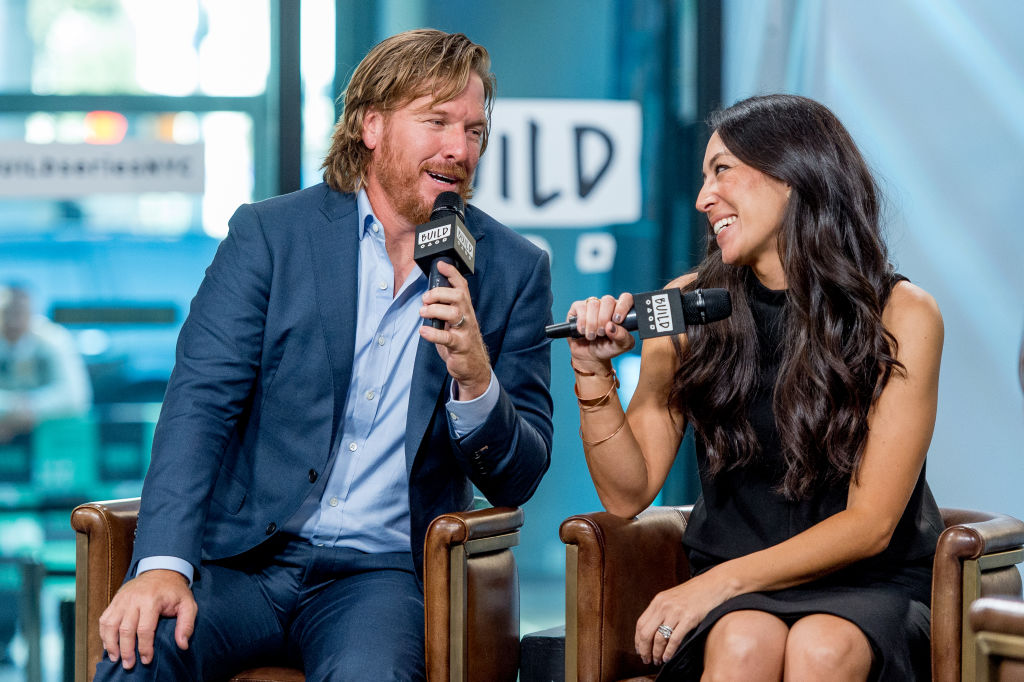 Chip and Joanna Gaines at Build Studio in New York City on October 18, 2017.