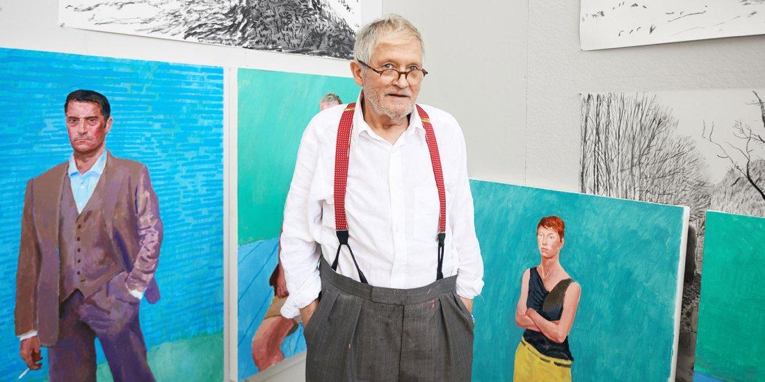 Painter David Hockney