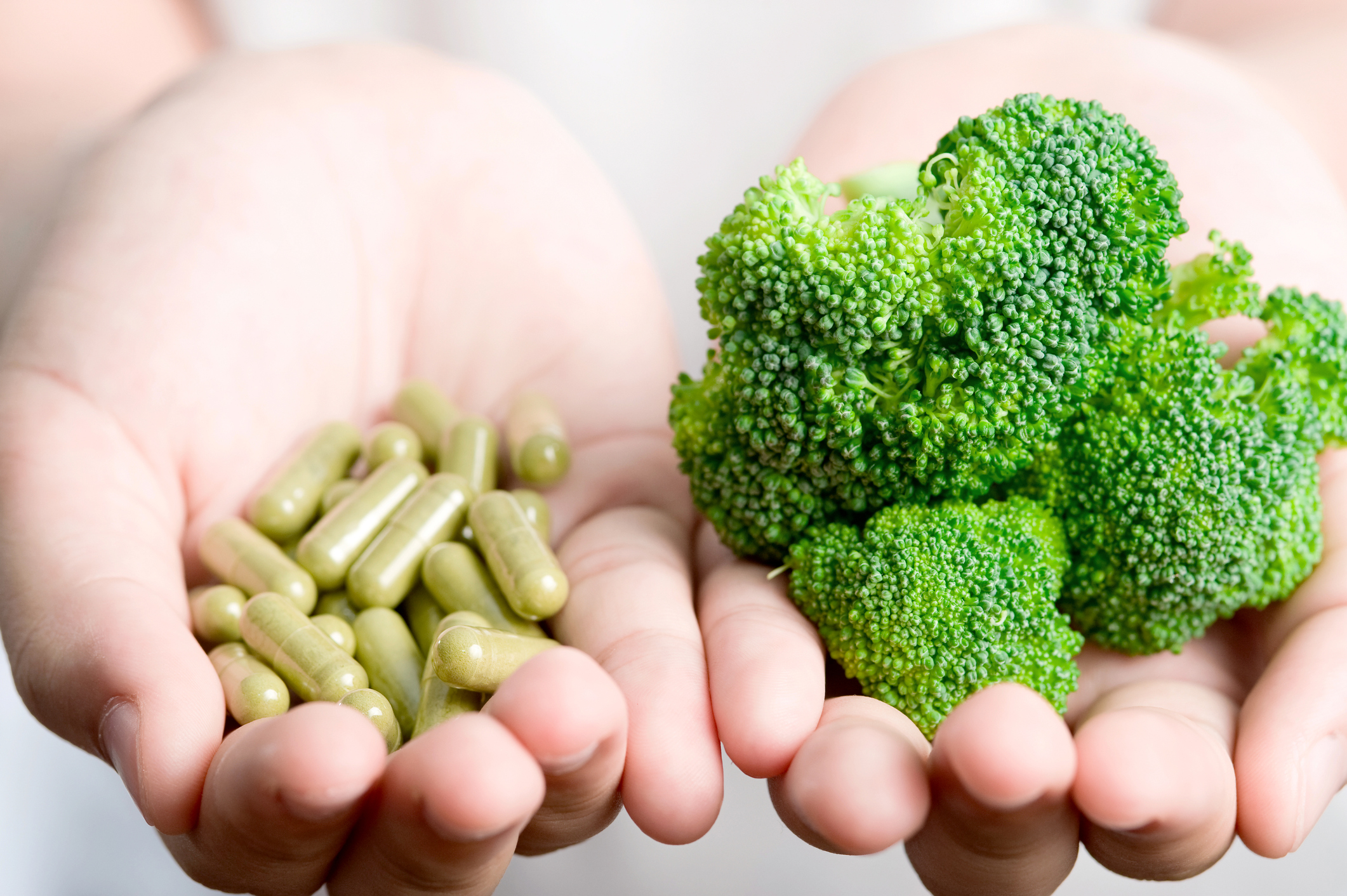 Vitamins and Supplements Can't Replace