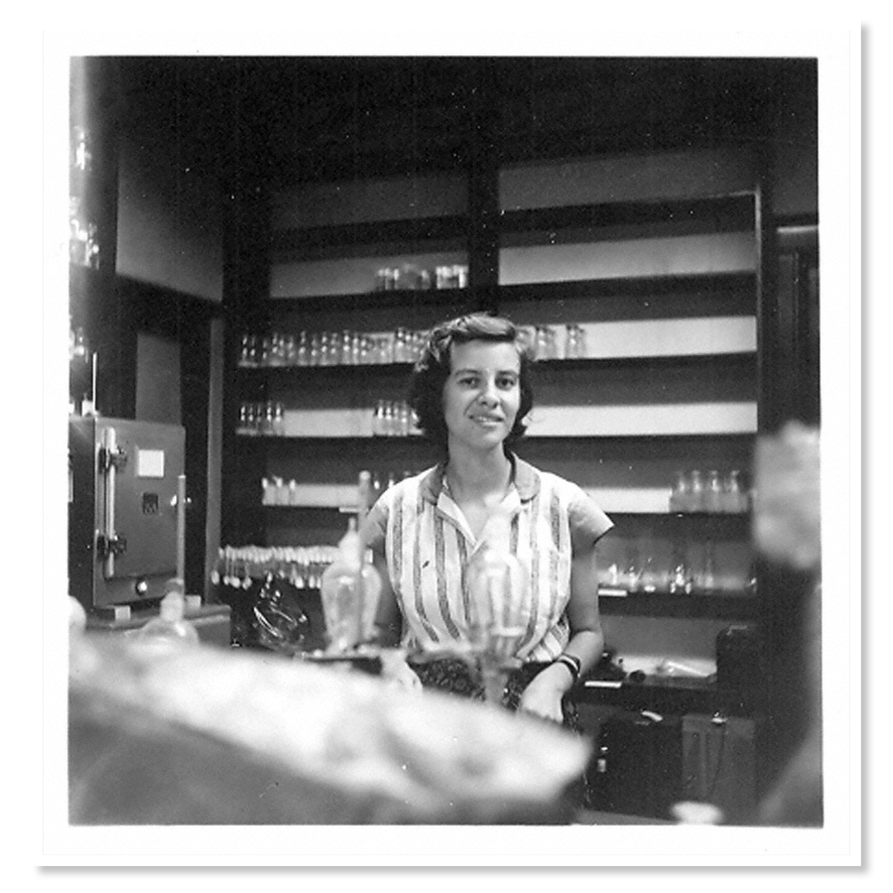 Lederberg made strides in the lab throughout the 1950s