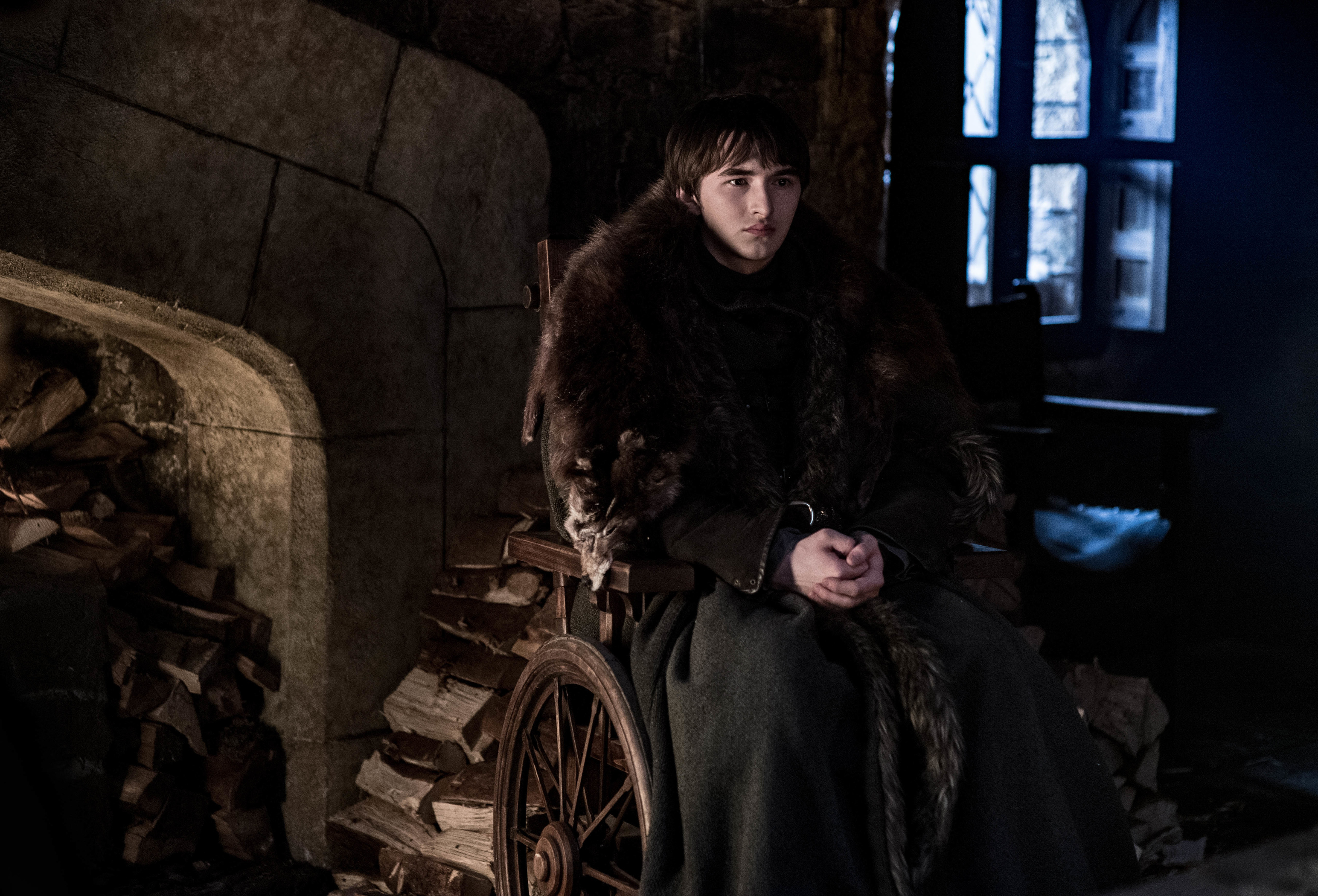 Isaac Hempstead Wright as Bran Stark.
