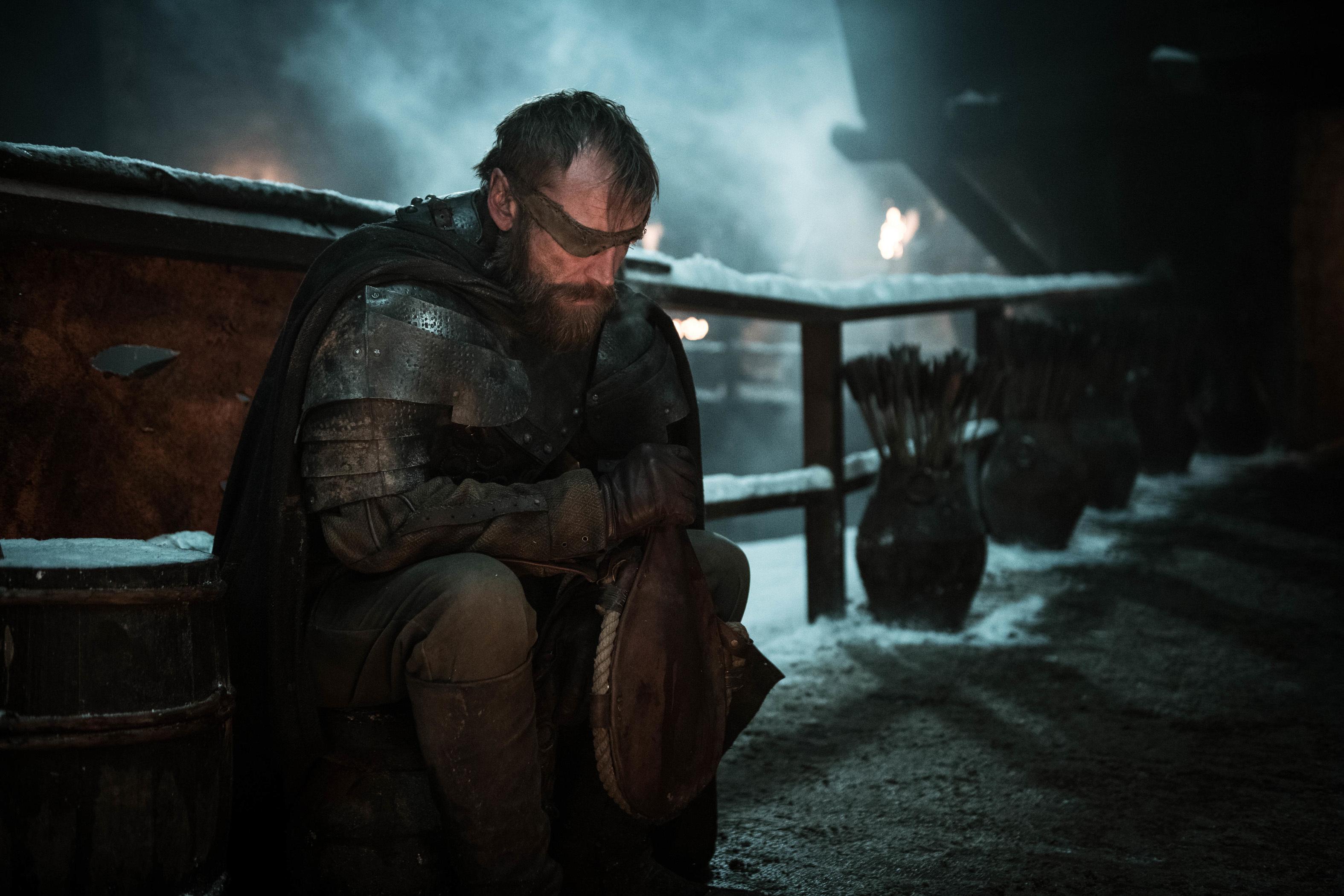 Richard Dormer as Beric Dondarrion.