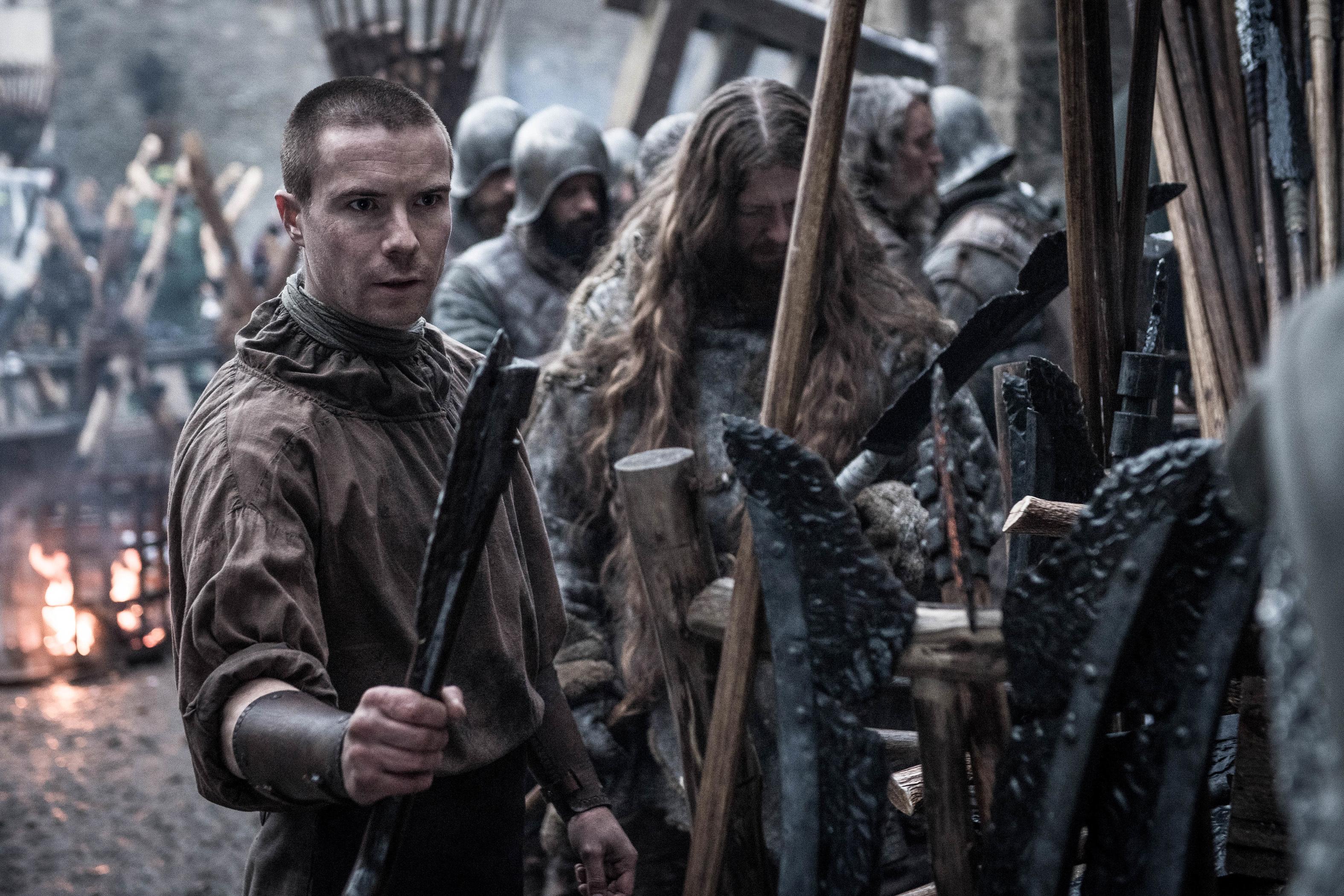 Joe Dempsie as Gendry.