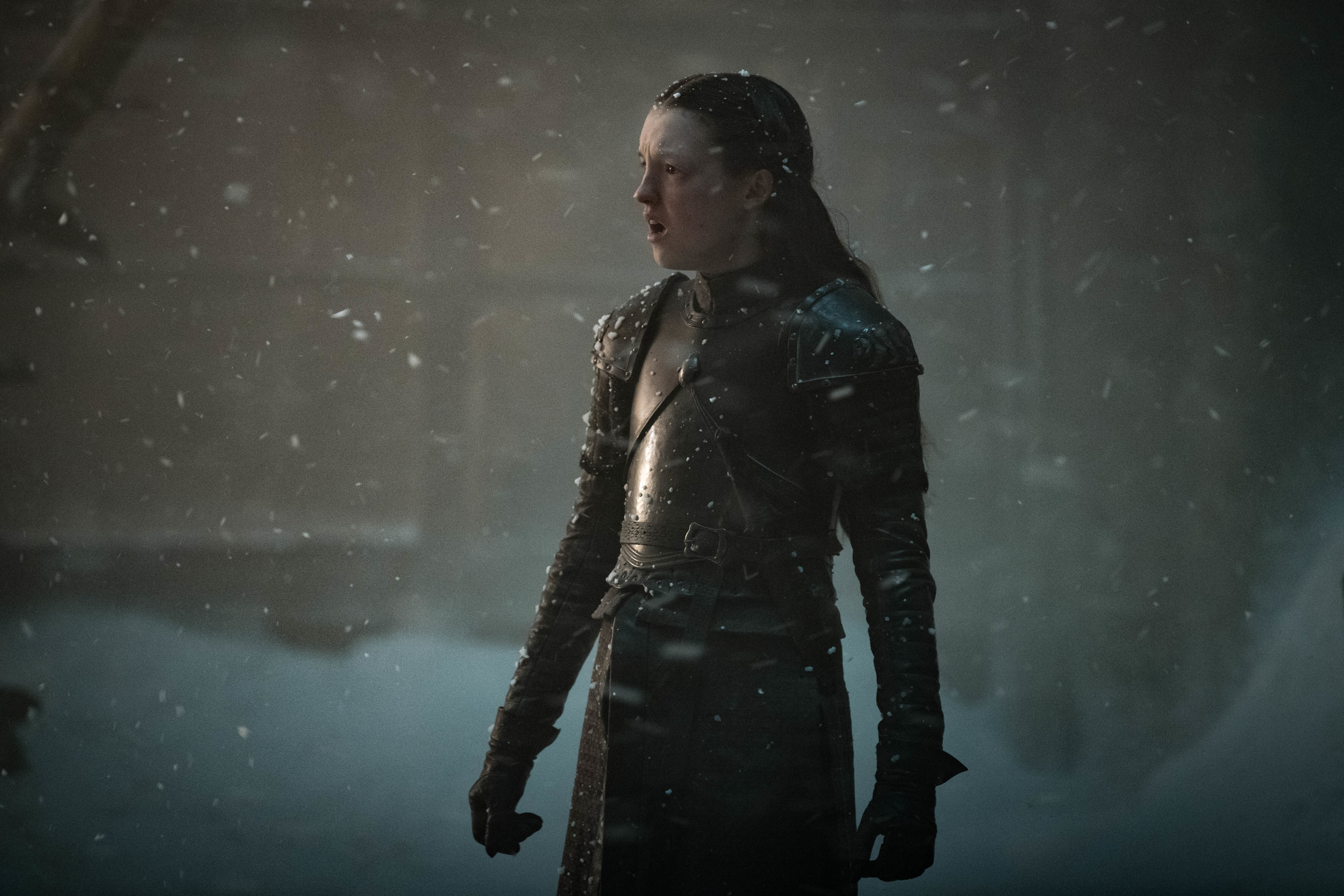 Lyanna Mormont on Game of Thrones