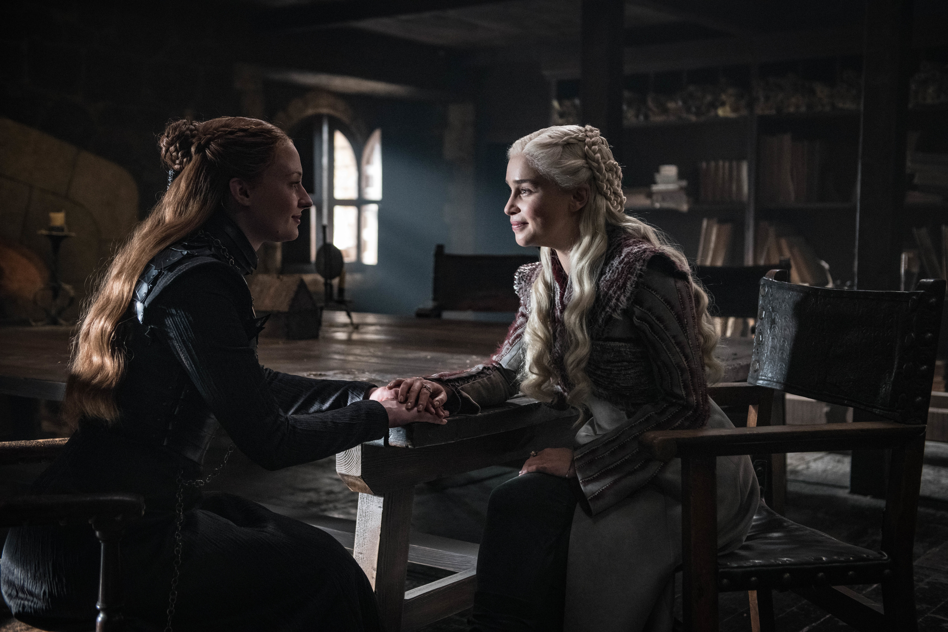 Sansa and Daenerys have an uneasy alliance.