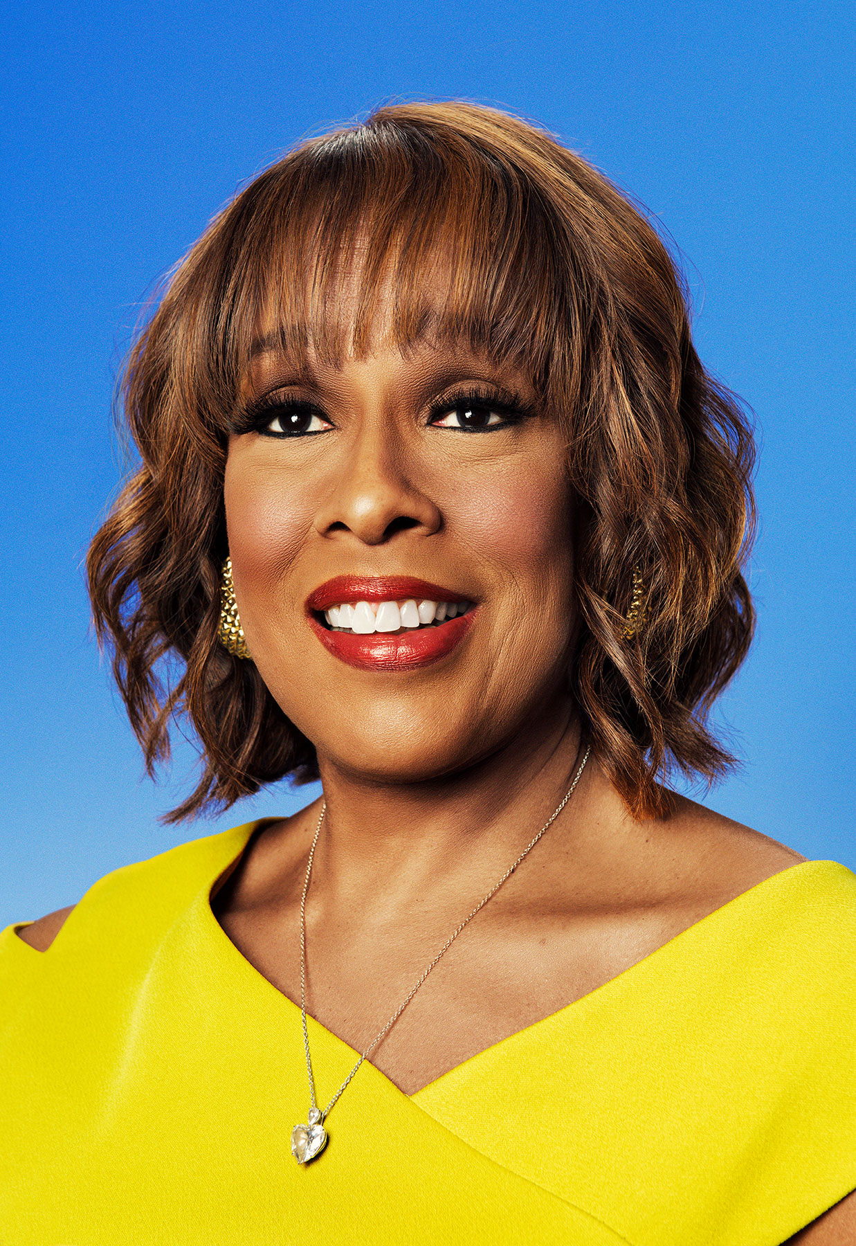 American television personality Gayle King