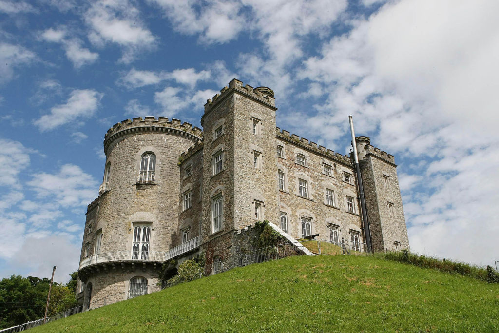 Slane Castle in County Meath ahead of the Oasis concert on Saturday June 20, 2009.