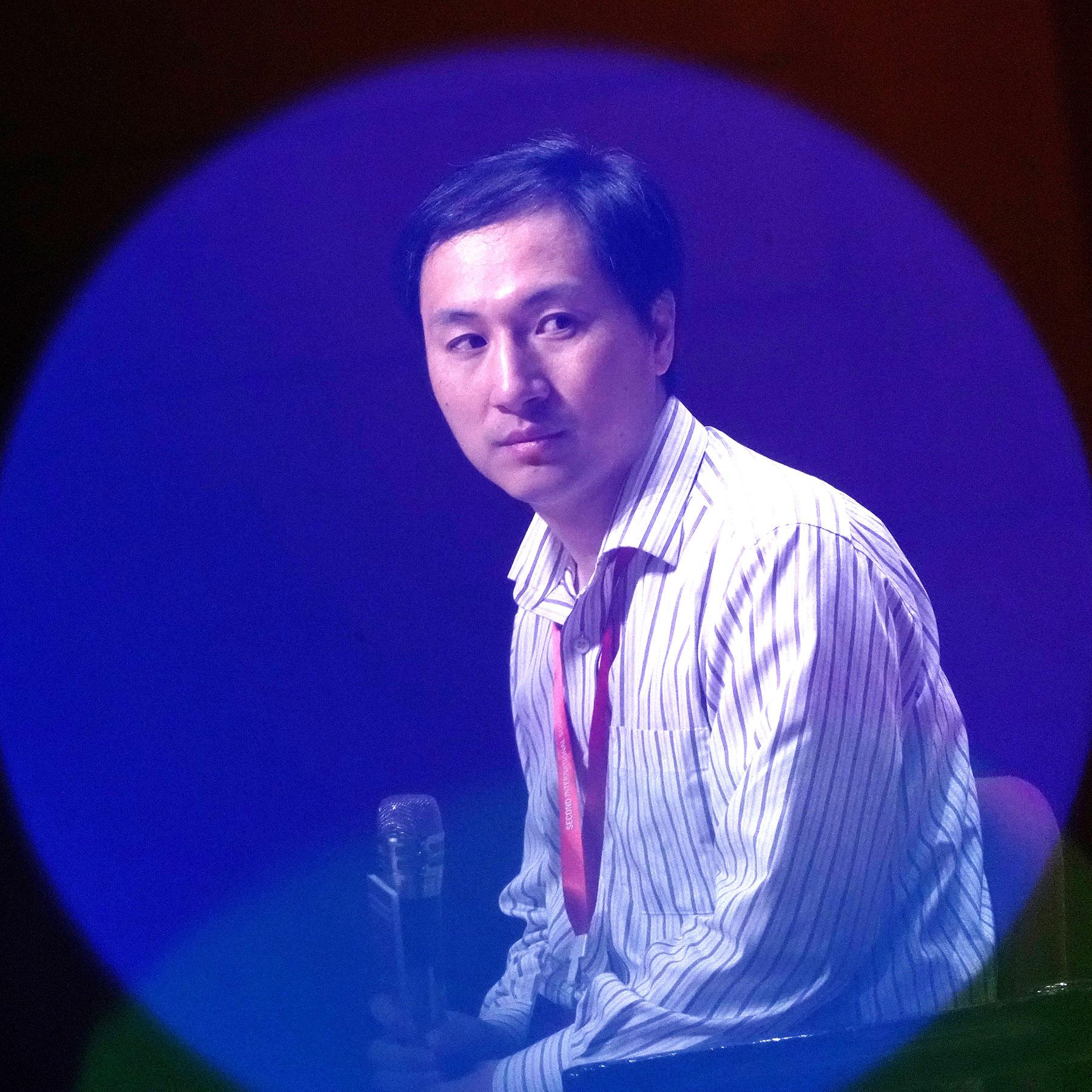 He Jiankui, Chinese biophysics researcher