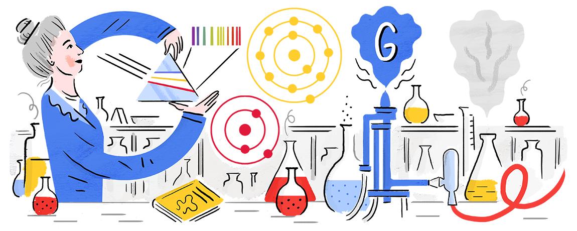 Google Doodle by Hamburg-based guest artist Carolin Löbbert