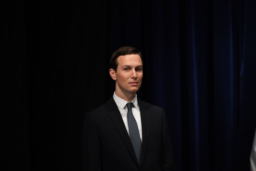 Senior Advisor to the President of the United States Jared Kushner, is pictured before being decorated with the Mexican Order of the Aztec Eagle by Mexico's President Enrique Pena Nieto in Buenos Aires, on November 30, 2018,