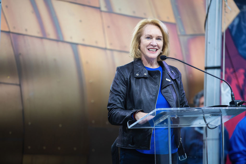Seattle Mayor Jenny Durkan on Oct. 7, 2018 in Seattle, Washington.