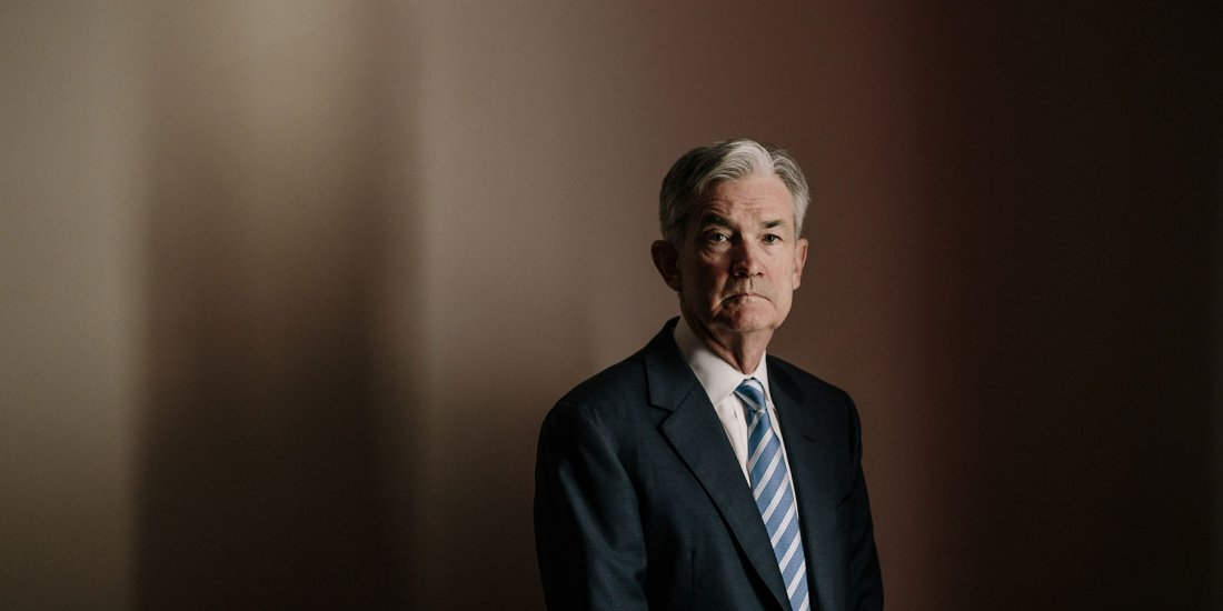 Jerome Powell, hair of the Federal Reserve