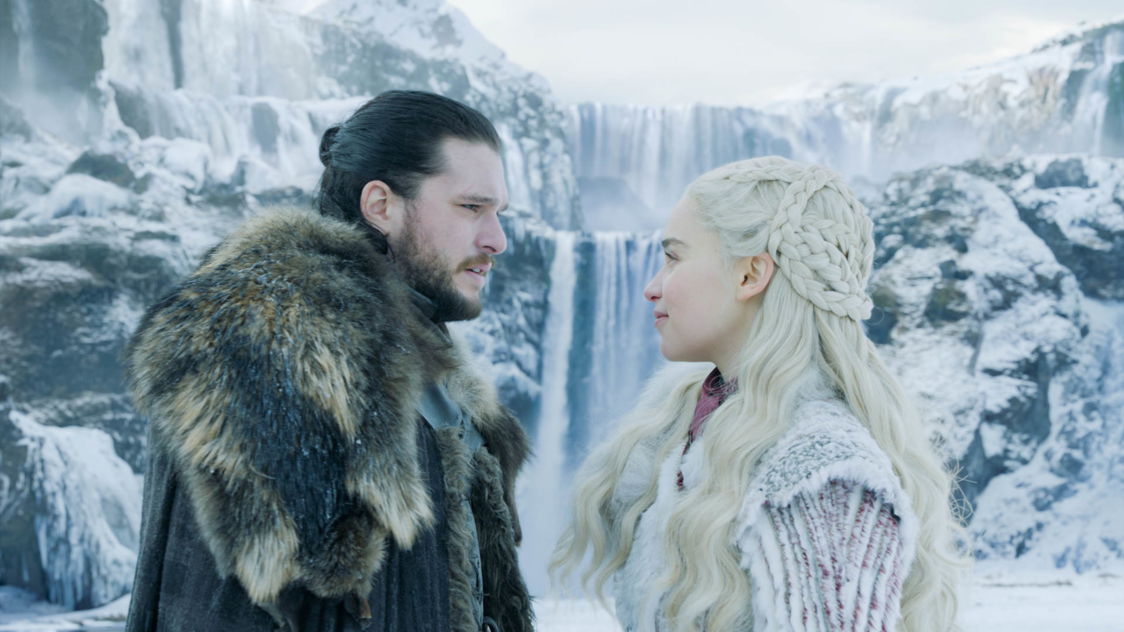 In  Winterfell,  Jon Snow learned the truth about his parentage and his relationship with Daenerys.