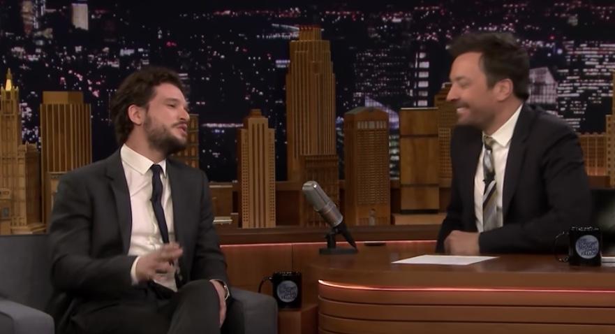 Kit Harington goes on Jimmy Fallon for Game of Thrones Jokes