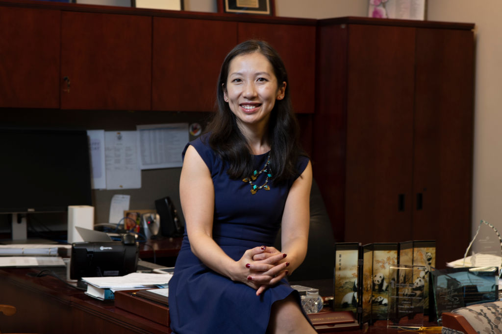 Dr. Leana Wen at the Baltimore City Health Department on Monday, Oct. 01, 2018.