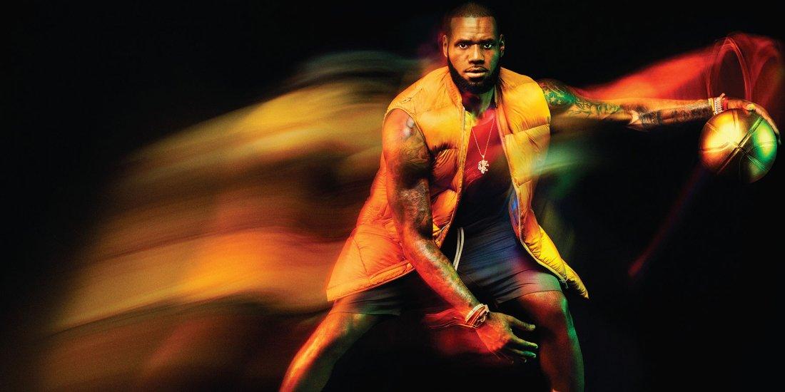 Los Angeles Lakers basketball player Lebron James