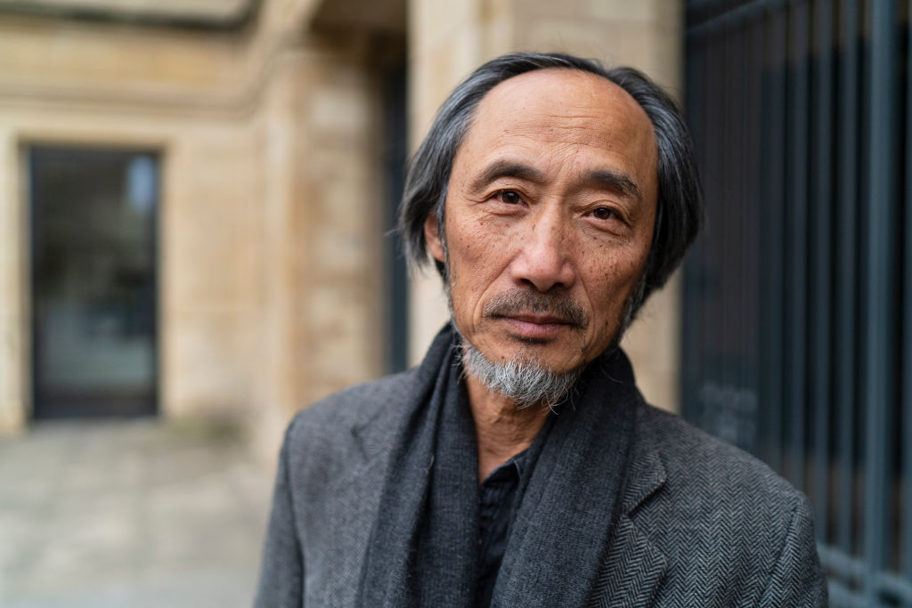 Ma Jian, writer, known as the Chinese Solzhenitsyn at the Oxford Literary Festival 2019 in Oxford, England on April 5, 2019.