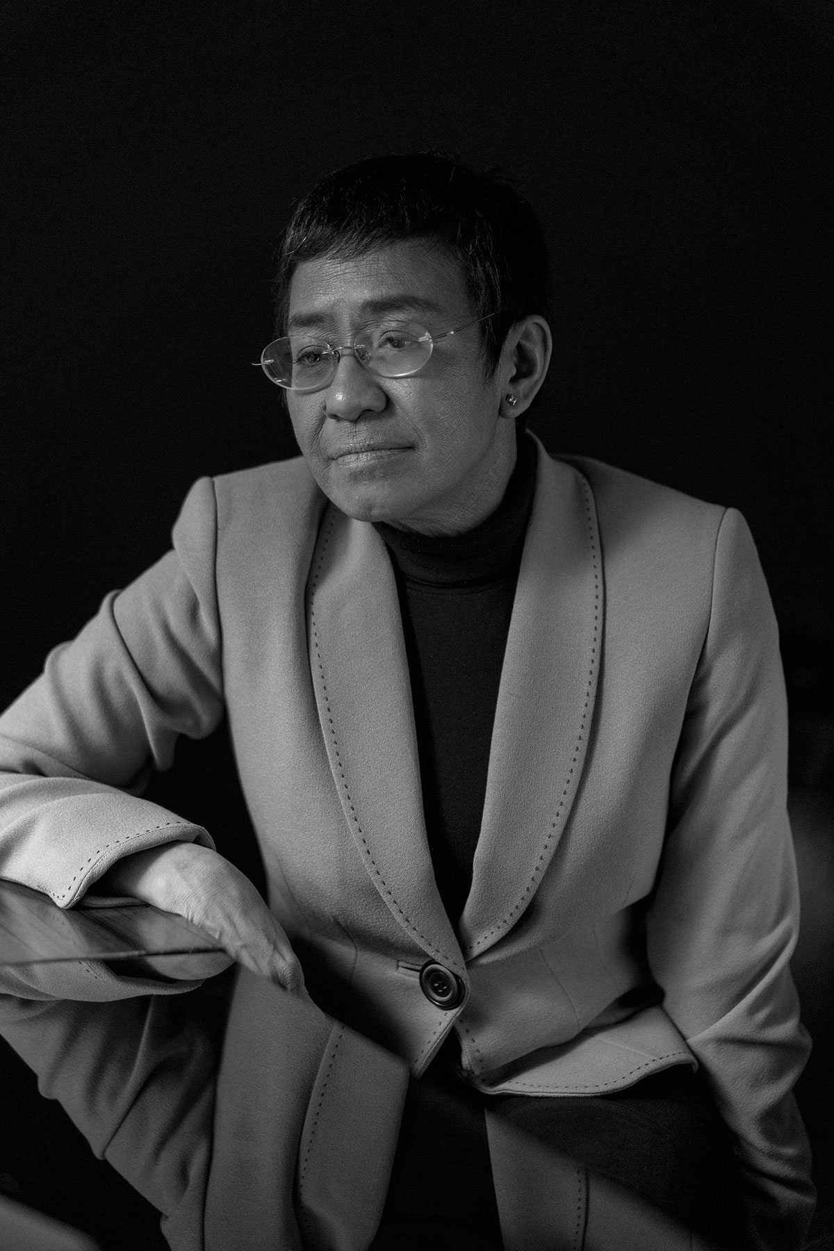 Maria Ressa, journalist, author, and CEO of Rappler
