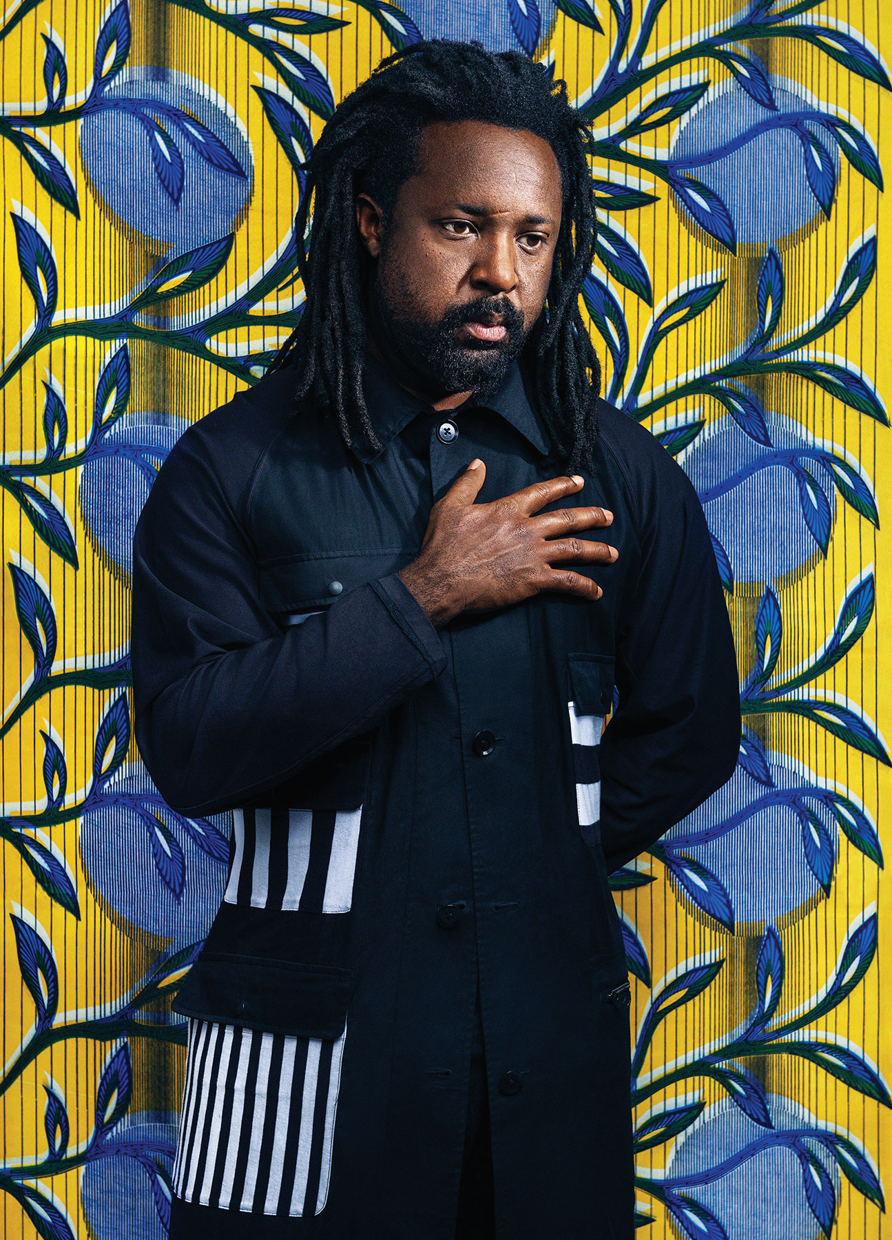 Writer Marlon James