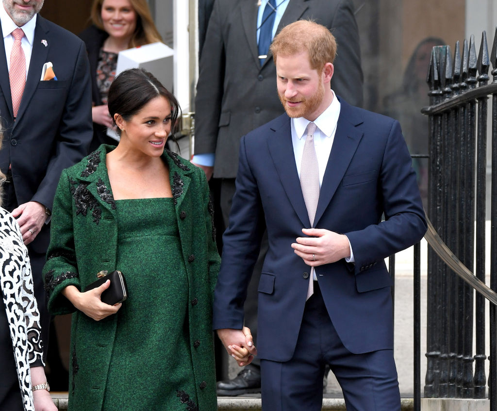Prince Harry, Duke of Sussex and Meghan, Duchess Of Sussex attend a Commonwealth Day Youth Event at Canada House on March 11, 2019 in London, England.