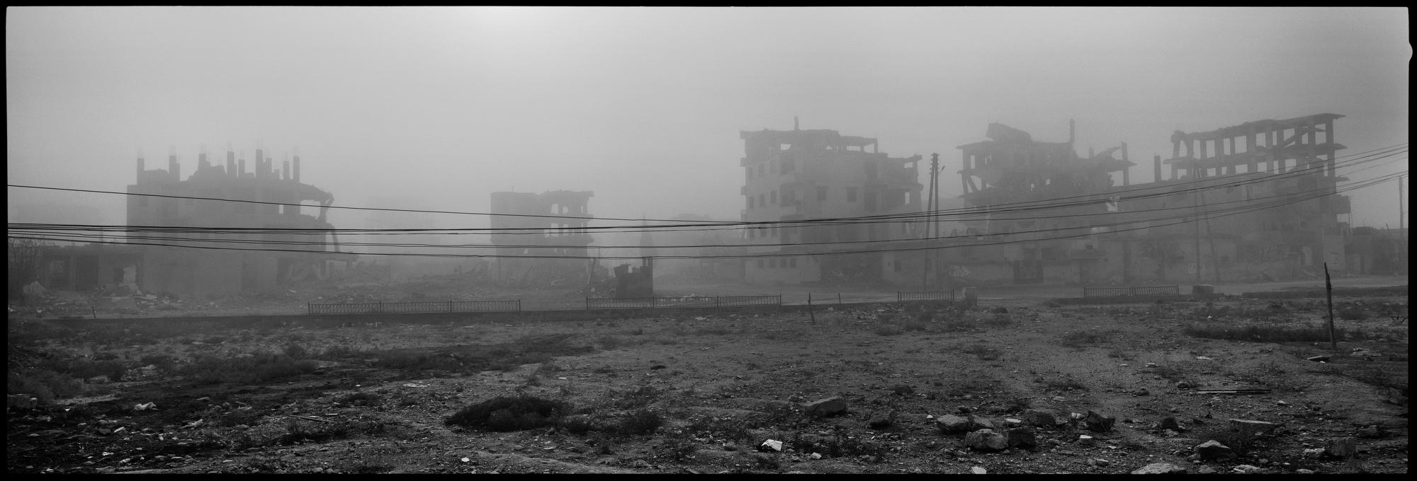 Raqqa, Syria. November, 2018.
