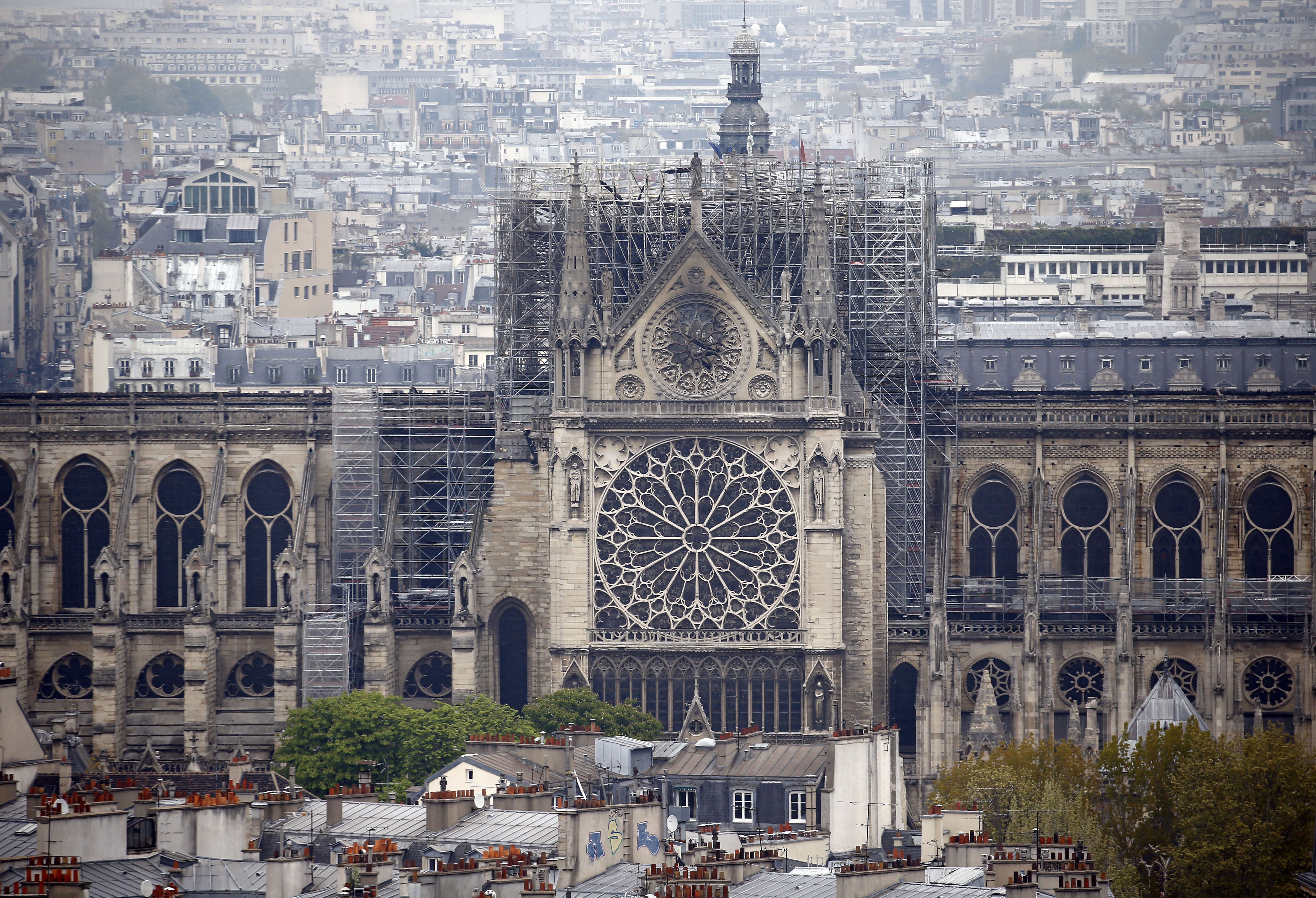Photo Of Man And Child Before Notre Dame Fire Goes Viral Time