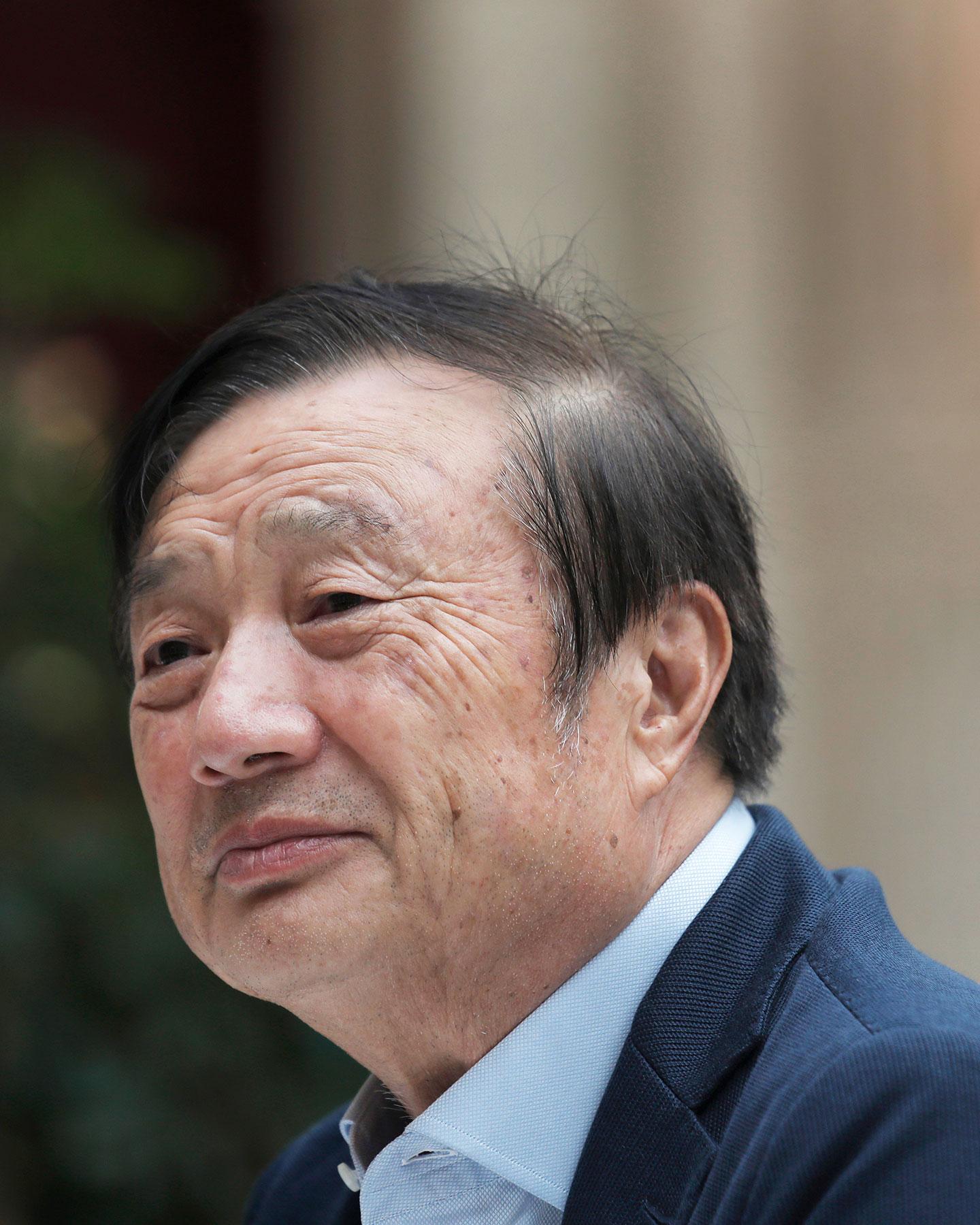Ren Zhengfei, founder and CEO of Huawei