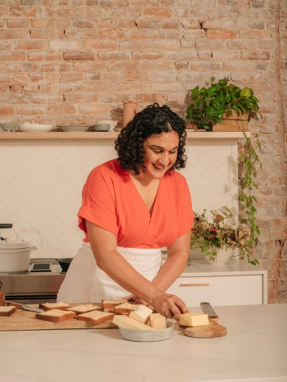 Chef and food writer Samin Nosrat
