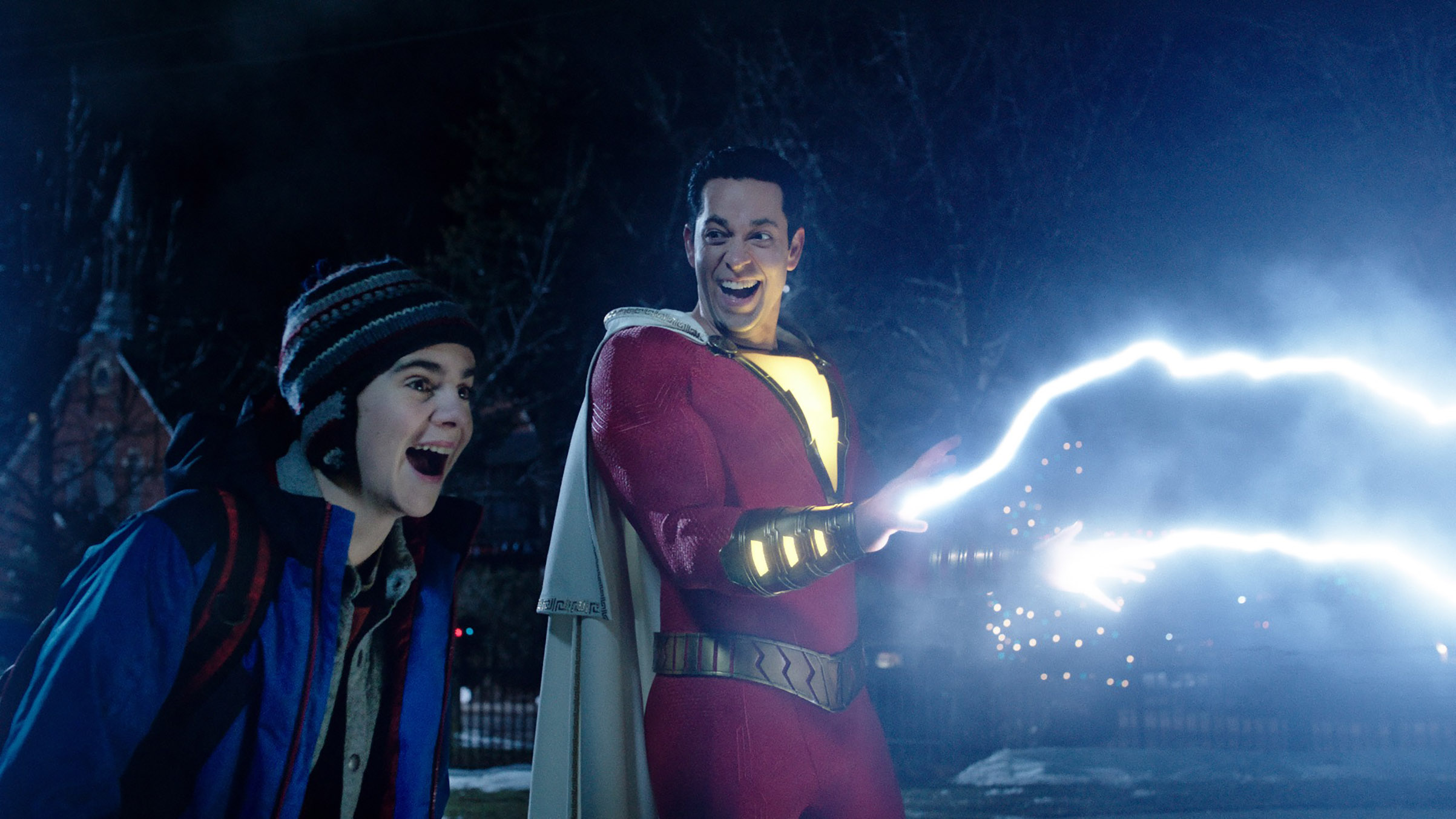 Shazam! is a comic-book movie with some much needed ­levity—thanks to star Zachary Levi
