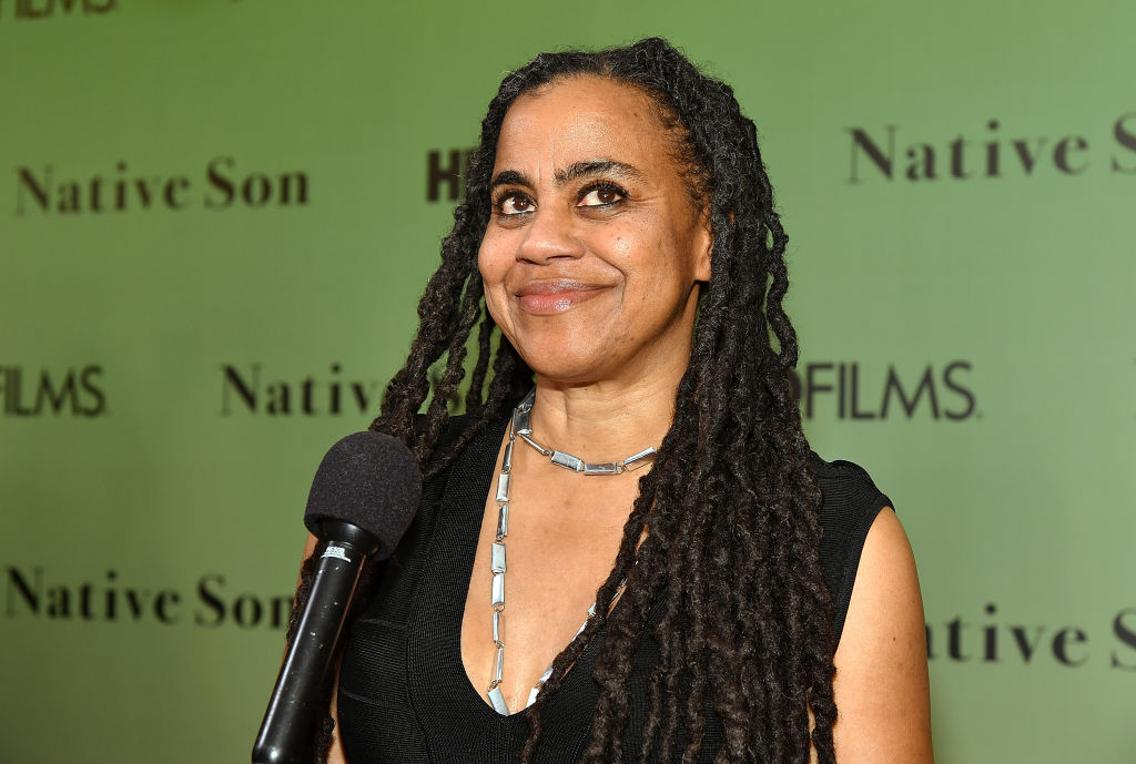 Playwright Suzan-Lori Parks attends HBO's  Native Son  screening at Guggenheim Museum on April 1, 2019 in New York City.