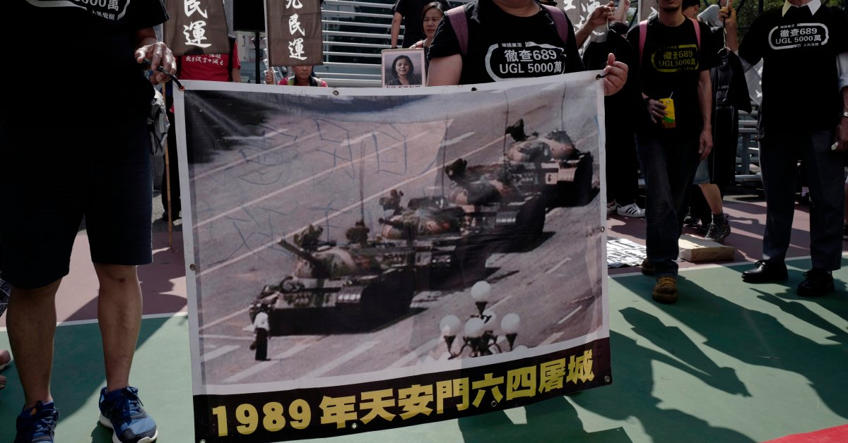 Censored Tiananmen Images Collected In Online Archive Time Every year before the anniversary of the tiananmen square massacre on june 4, the chinese government begins to exert even more control over what information people can access online. https time com 5571372 tiananmen massacre june 4 1989 china censorship