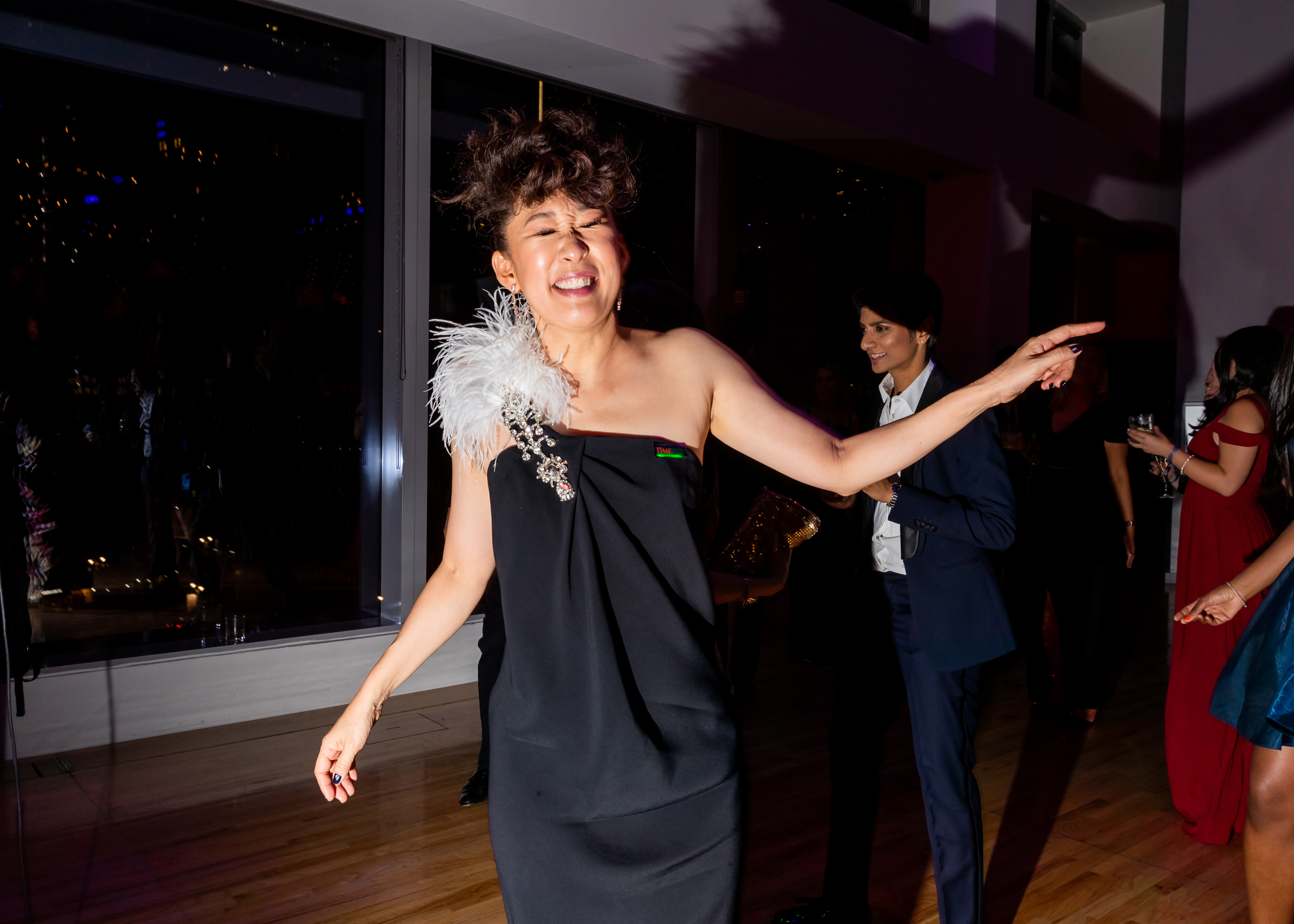 Sandra Oh at the Time 100 Gala at Jazz at Lincoln Center in New York City on April 23, 2019.