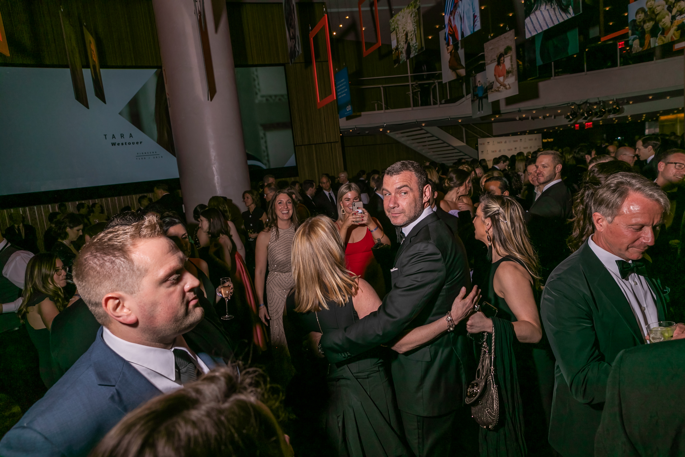 Liev Schreiber at the Time 100 Gala at Jazz at Lincoln Center in New York City on April 23, 2019.