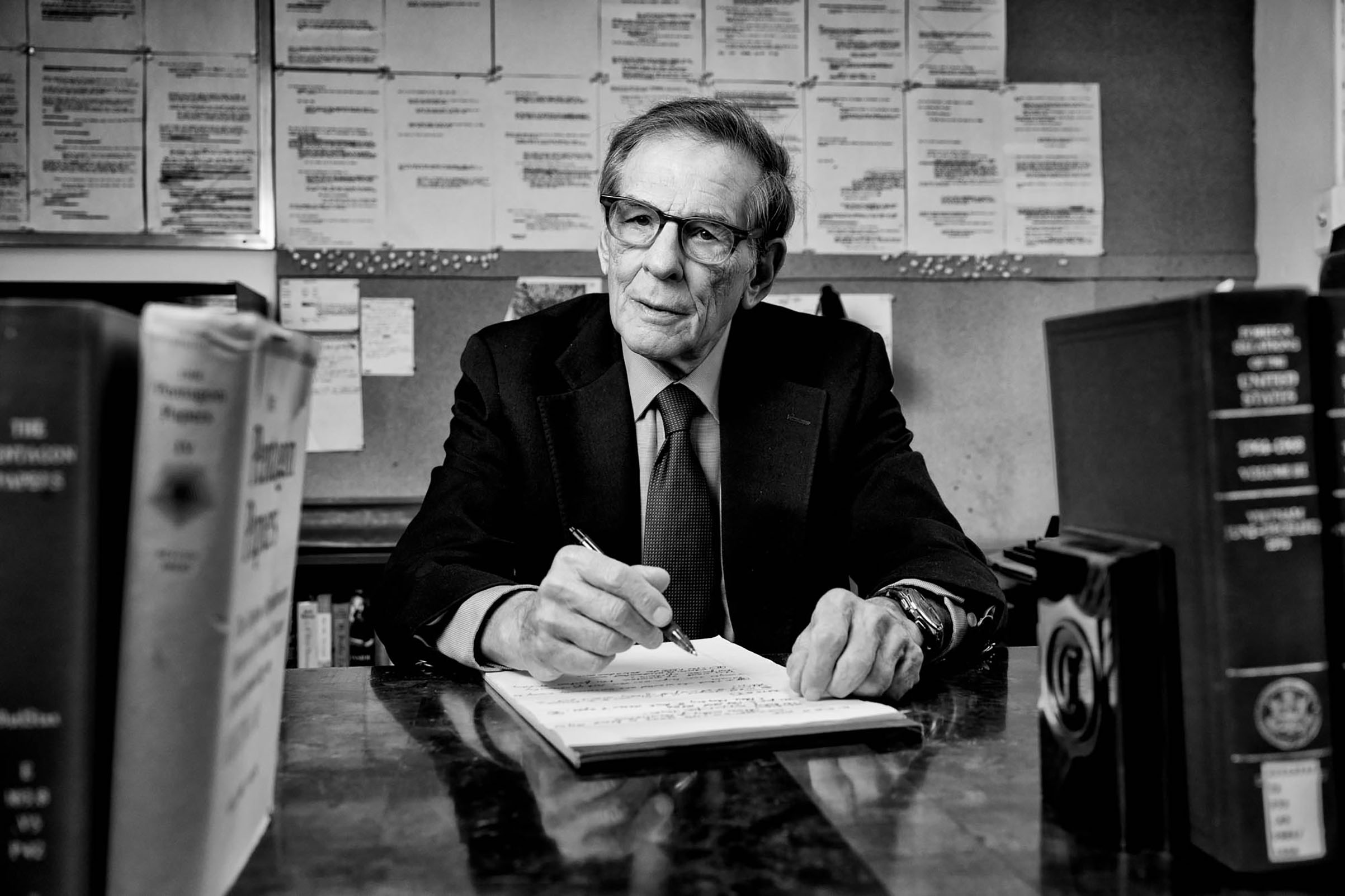'I was always too fast, and wanted to make myself think things all the way through.' —Robert Caro, on his work habits