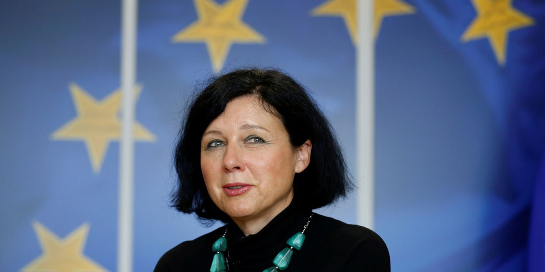 European Justice Commissioner Vera Jourova