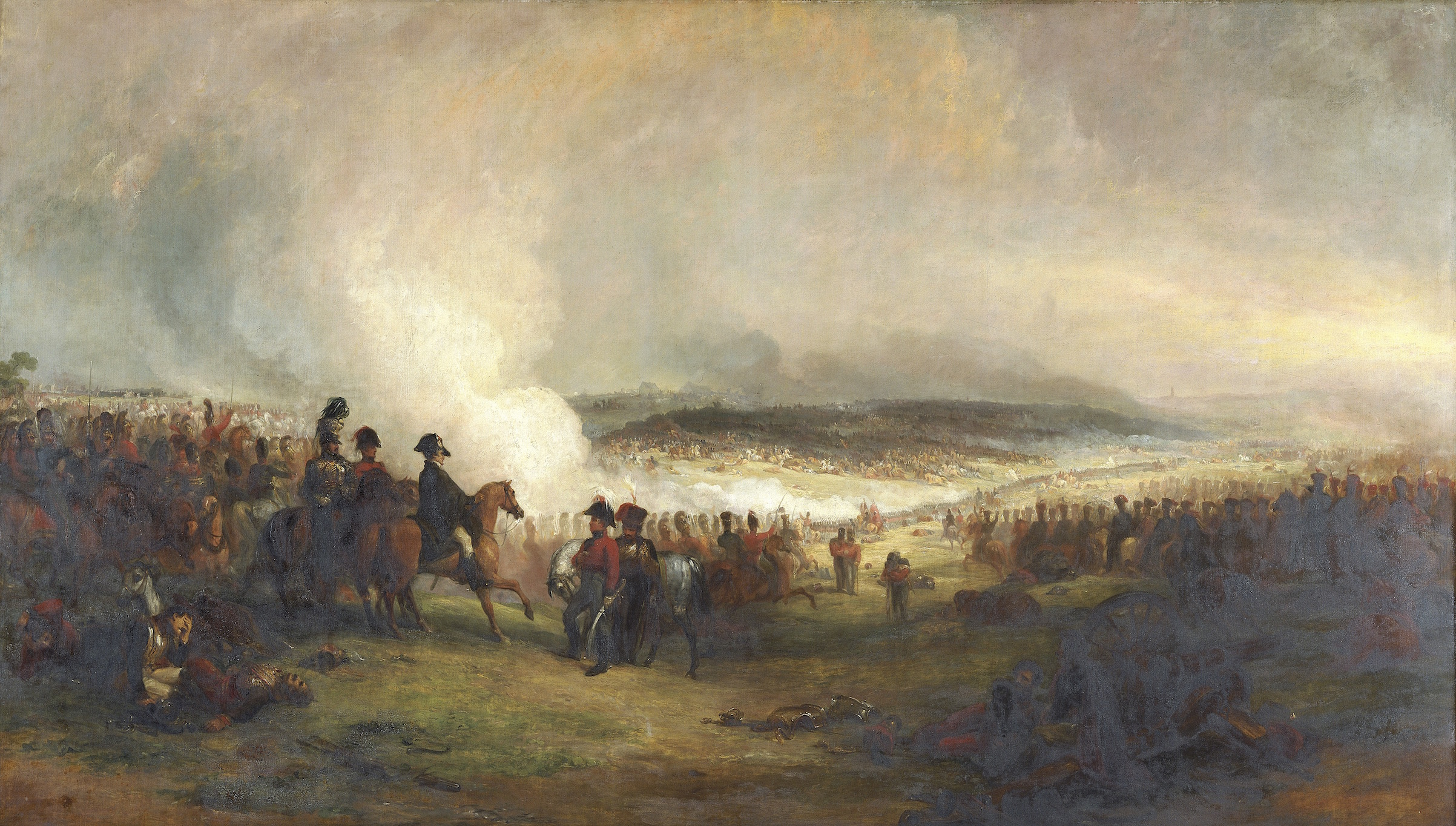The battle of Waterloo', 1813-1869. Artist: George Jones.